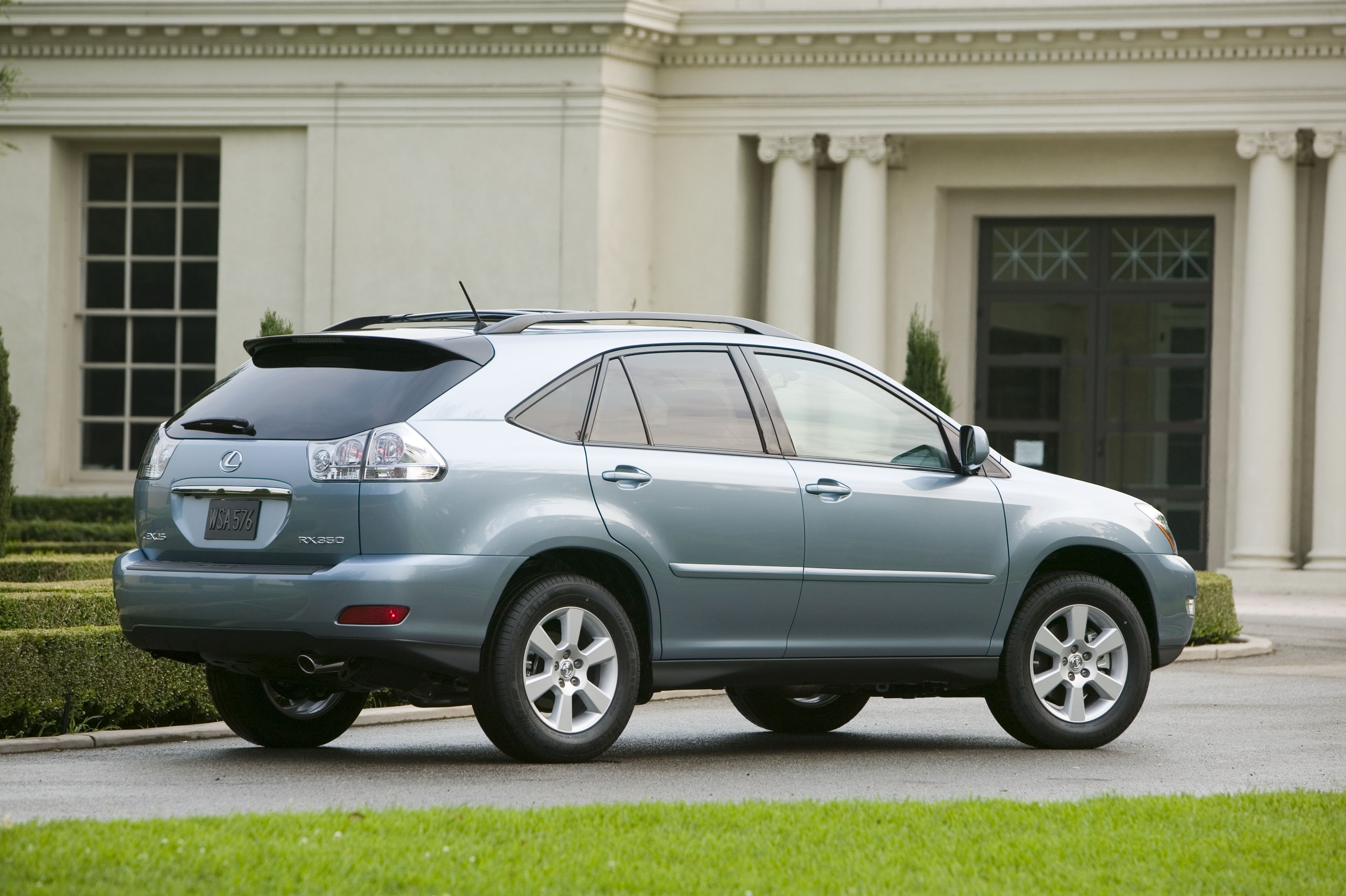 2007 lexus rx 350 review - top speed
