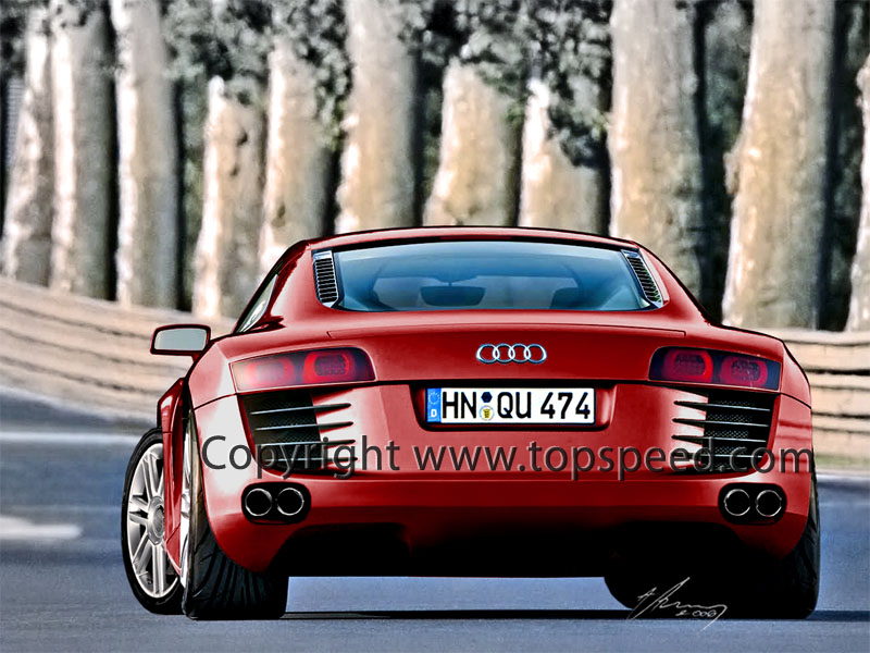 2007 Audi R8 Review - Top Speed