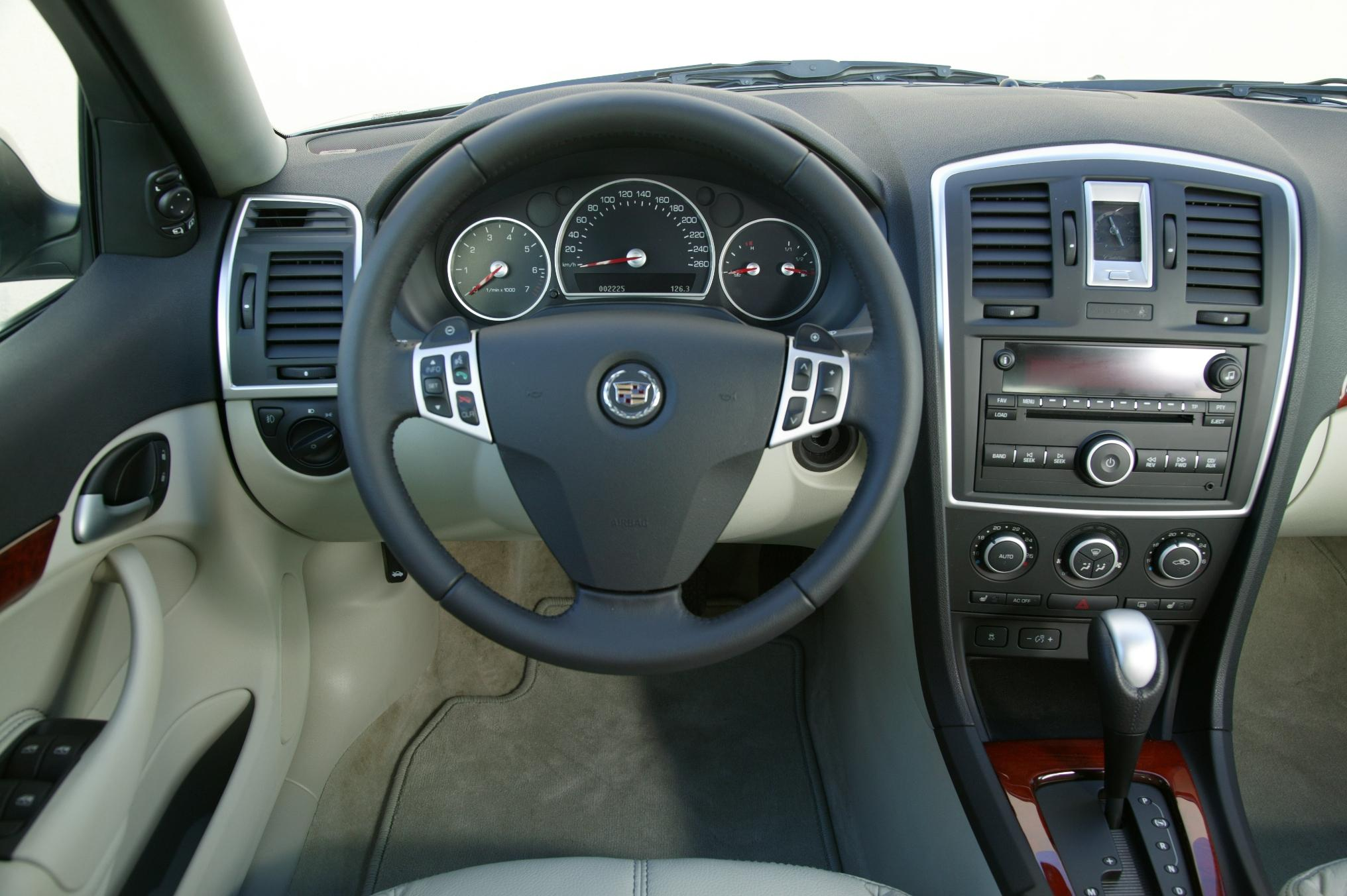 2007 cadillac bls and srx luxury executive review top speed. Black Bedroom Furniture Sets. Home Design Ideas