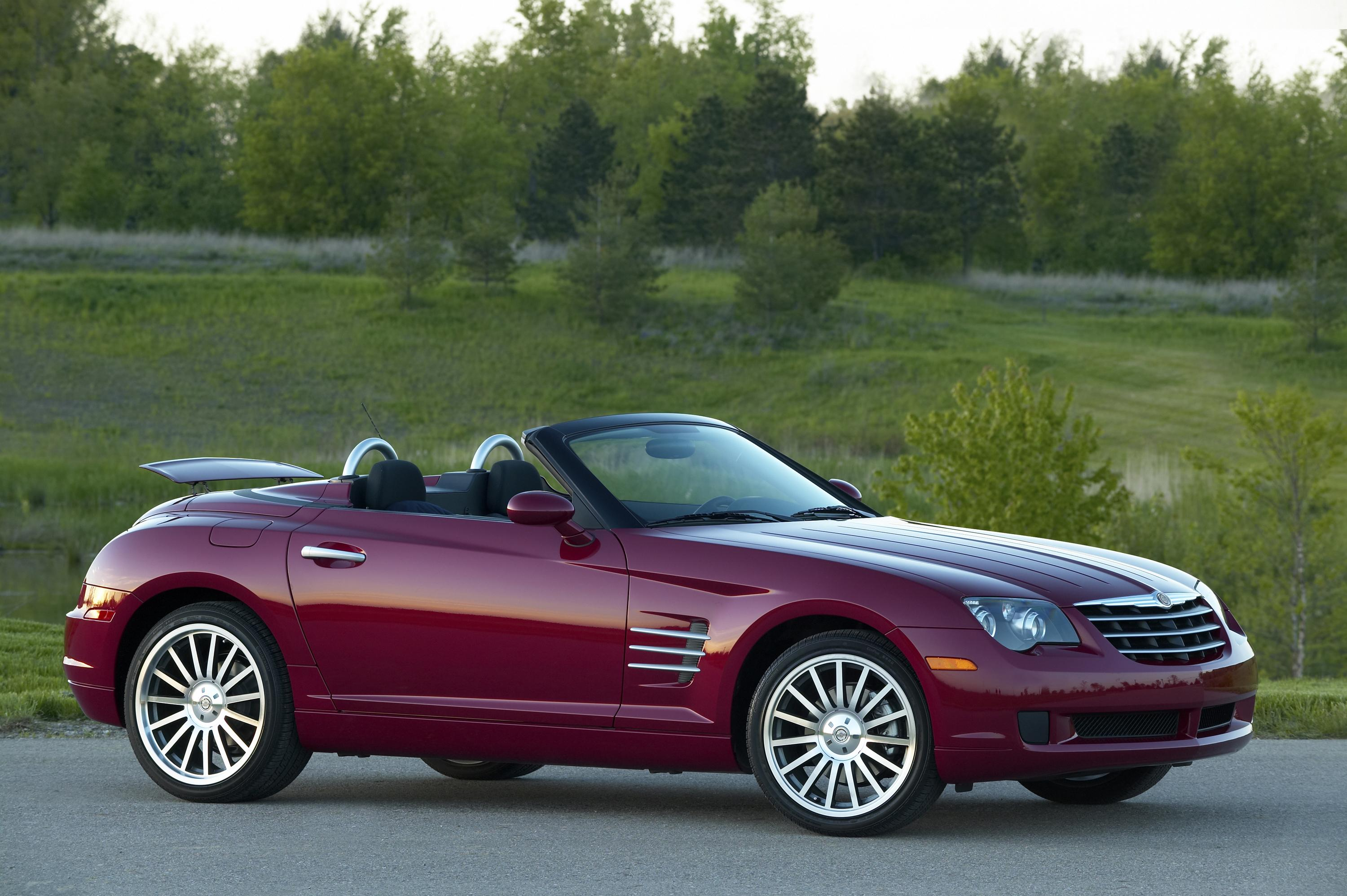 2007 chrysler crossfire coupe