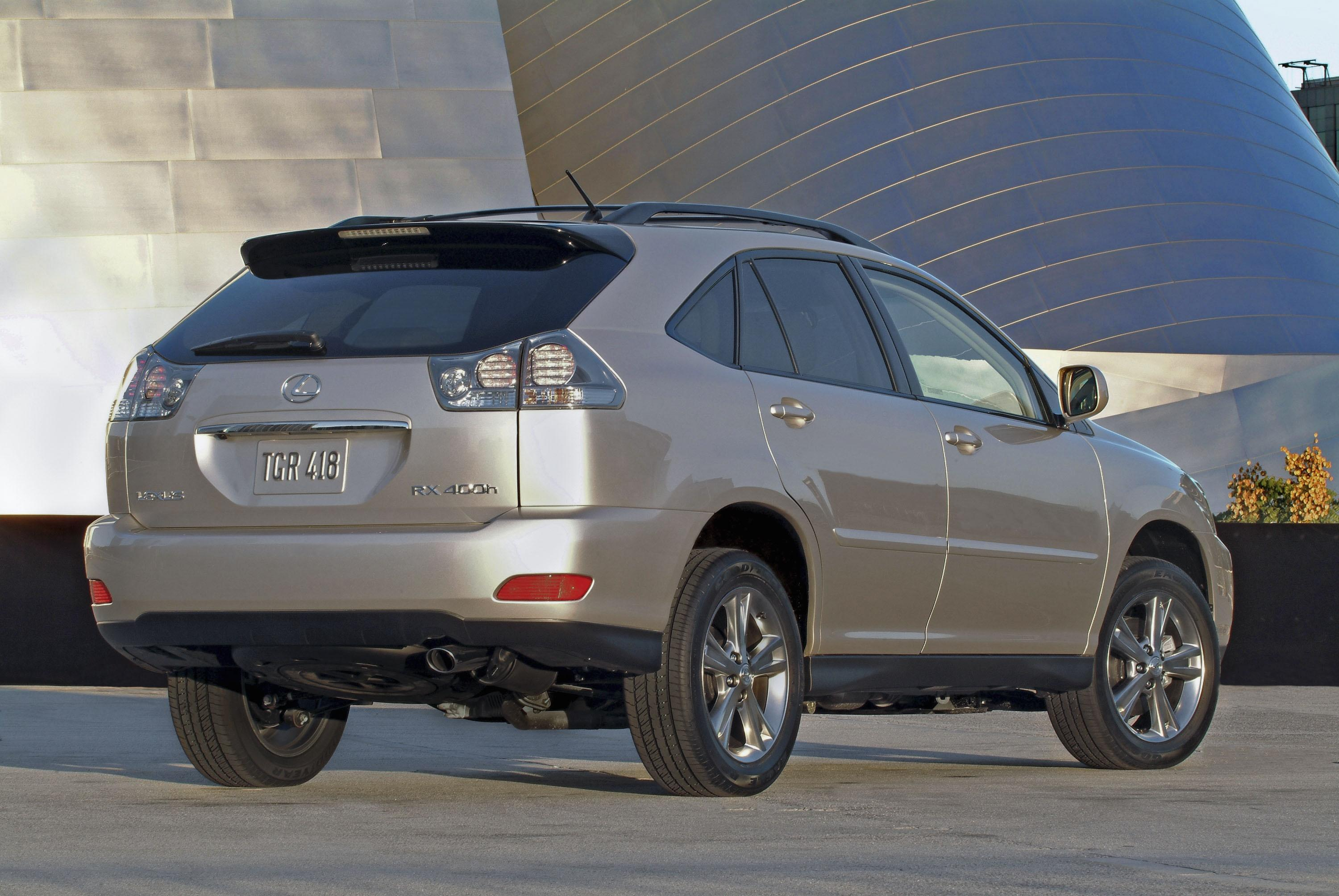 2007 lexus rx 400h gallery 101509 top speed. Black Bedroom Furniture Sets. Home Design Ideas