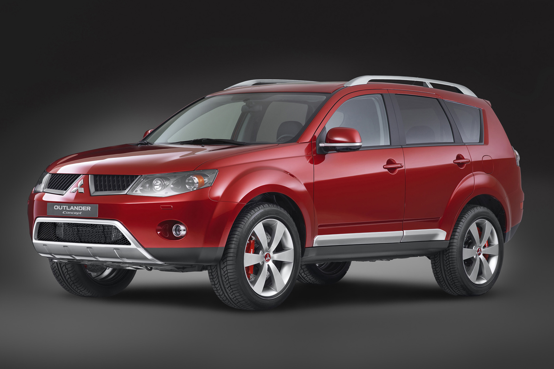 Types Of Toyota Suv >> 2007 Mitsubishi Outlander | Top Speed
