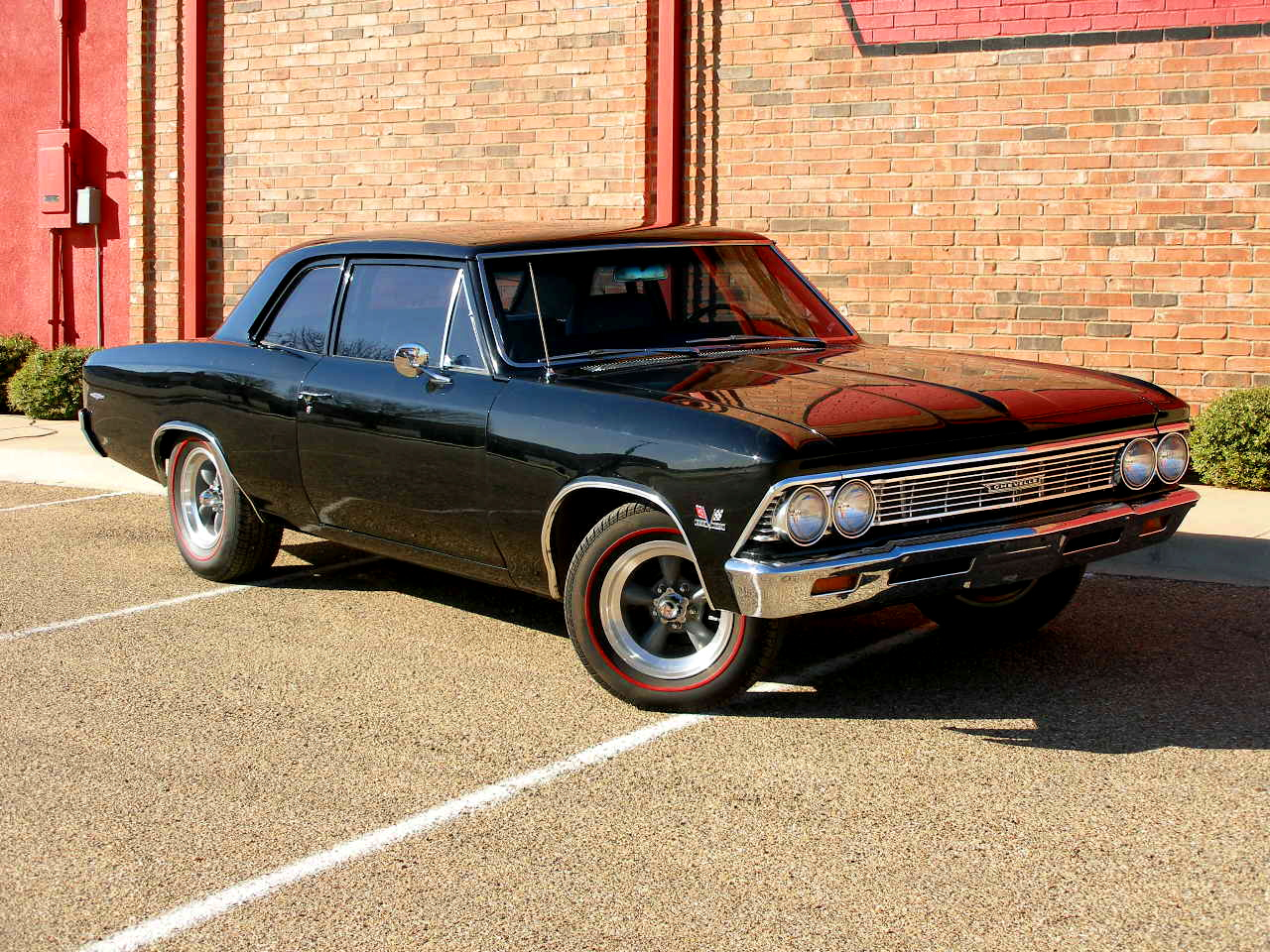 The chevrolet chevelle debuted for the 1964 model year as a mid size automobile from chevrolet it was basically a smaller version of the impala