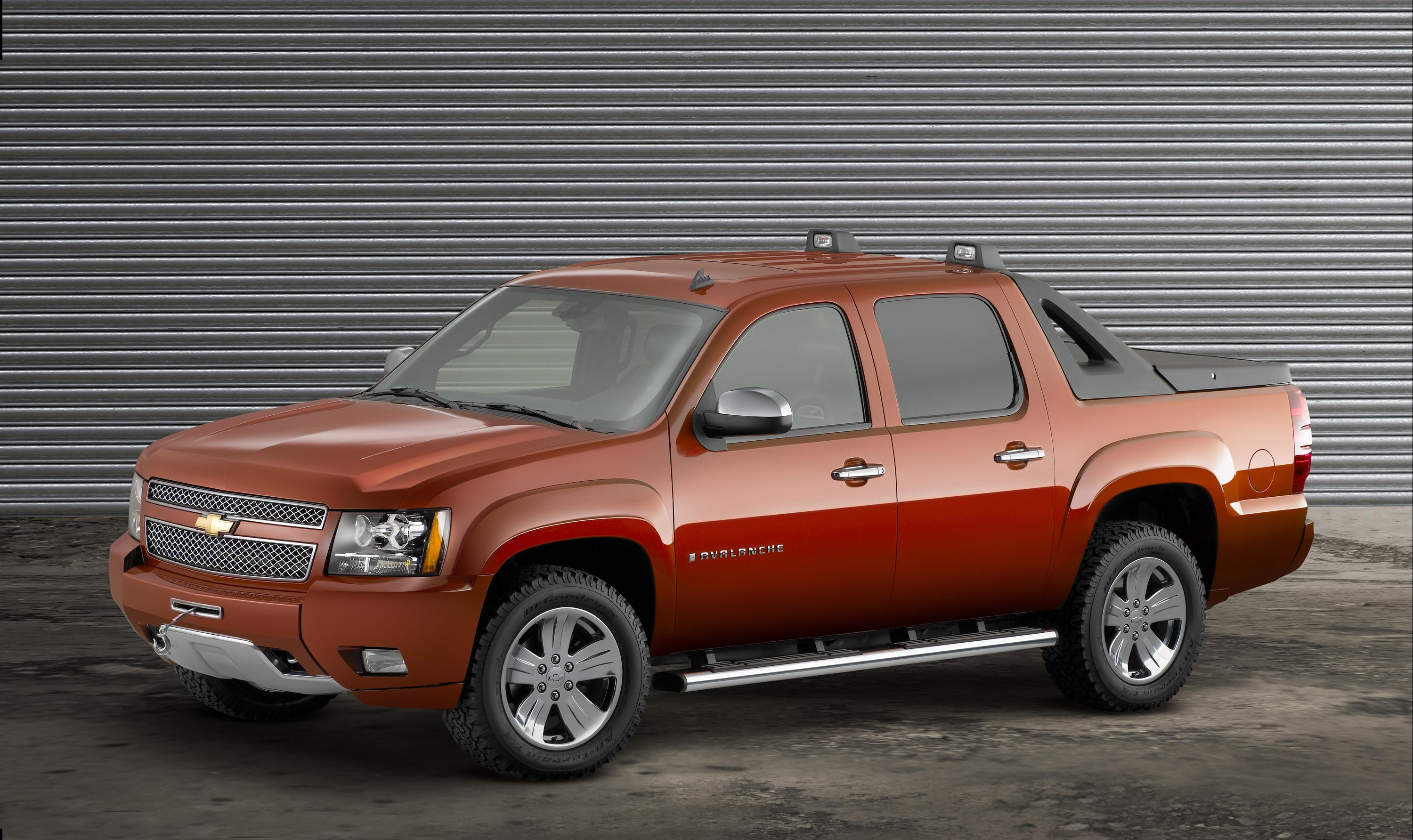 2007 chevrolet avalanche z71 plus pictures photos wallpapers top speed. Black Bedroom Furniture Sets. Home Design Ideas