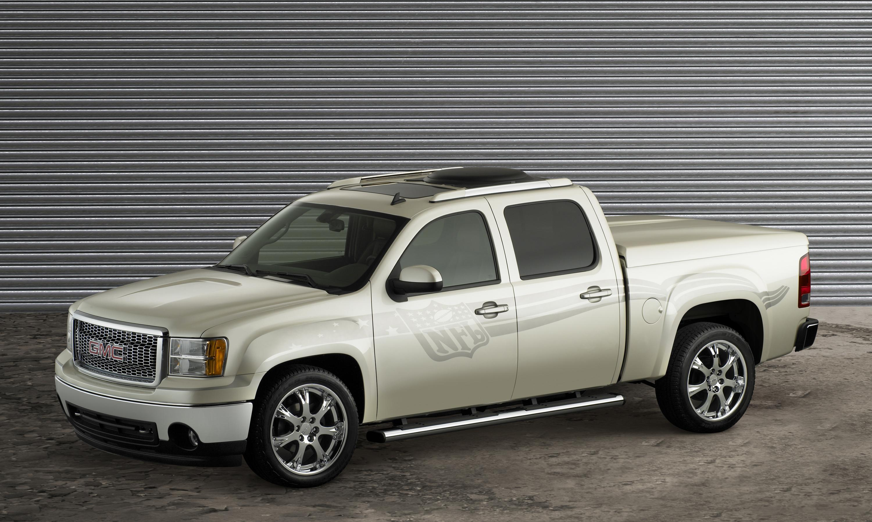 2007 gmc sierra nfl crew cab review top speed. Black Bedroom Furniture Sets. Home Design Ideas
