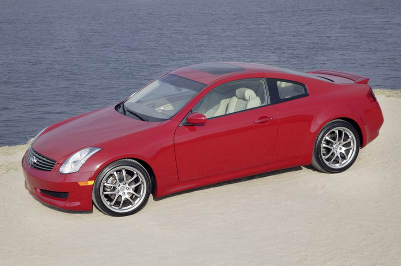 2007 Infiniti G35 Coupe   Top Speed