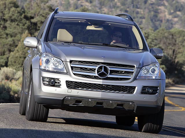 Vehicles With Third Row Seating >> 2007 Mercedes GL450 SUV Of The Year | Top Speed