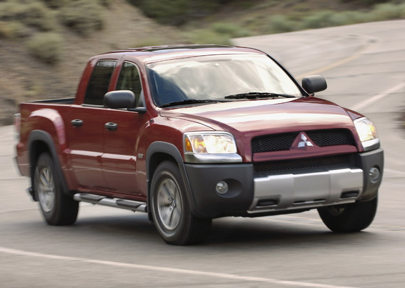 2007 mitsubishi raider | top speed