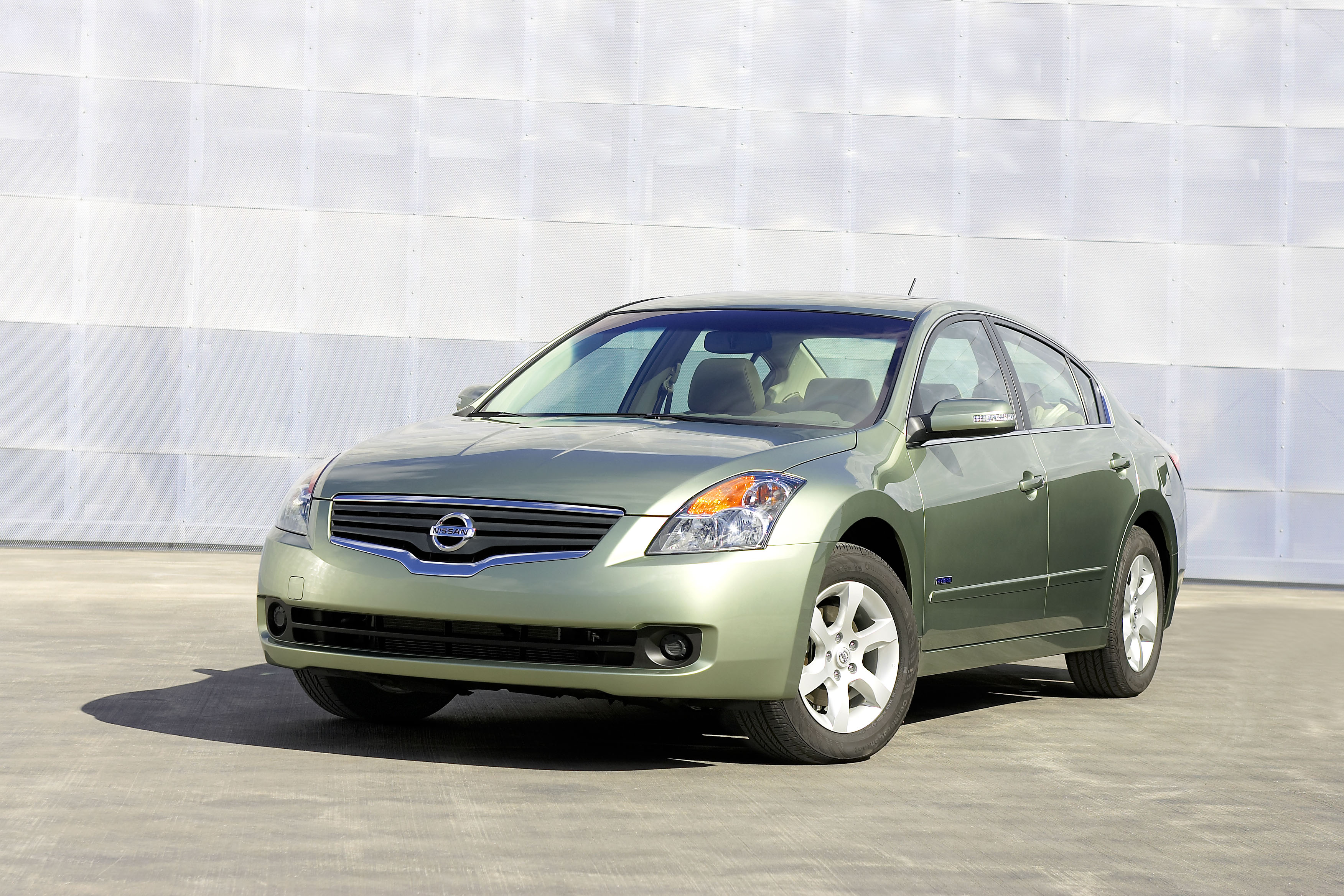 2007 Nissan Altima Hybrid | Top Speed. »