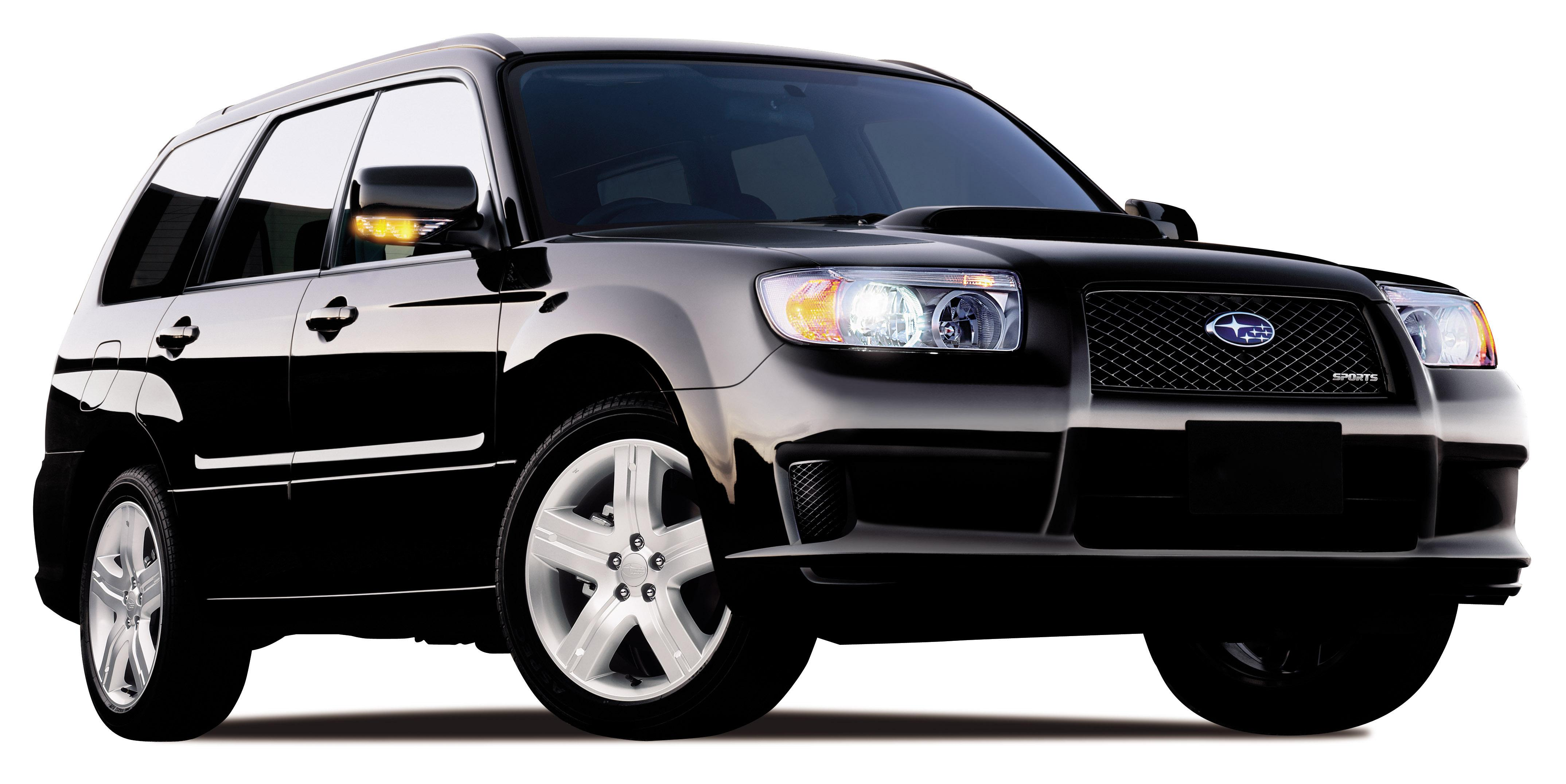 2007 Subaru Forester Sports | Top Speed