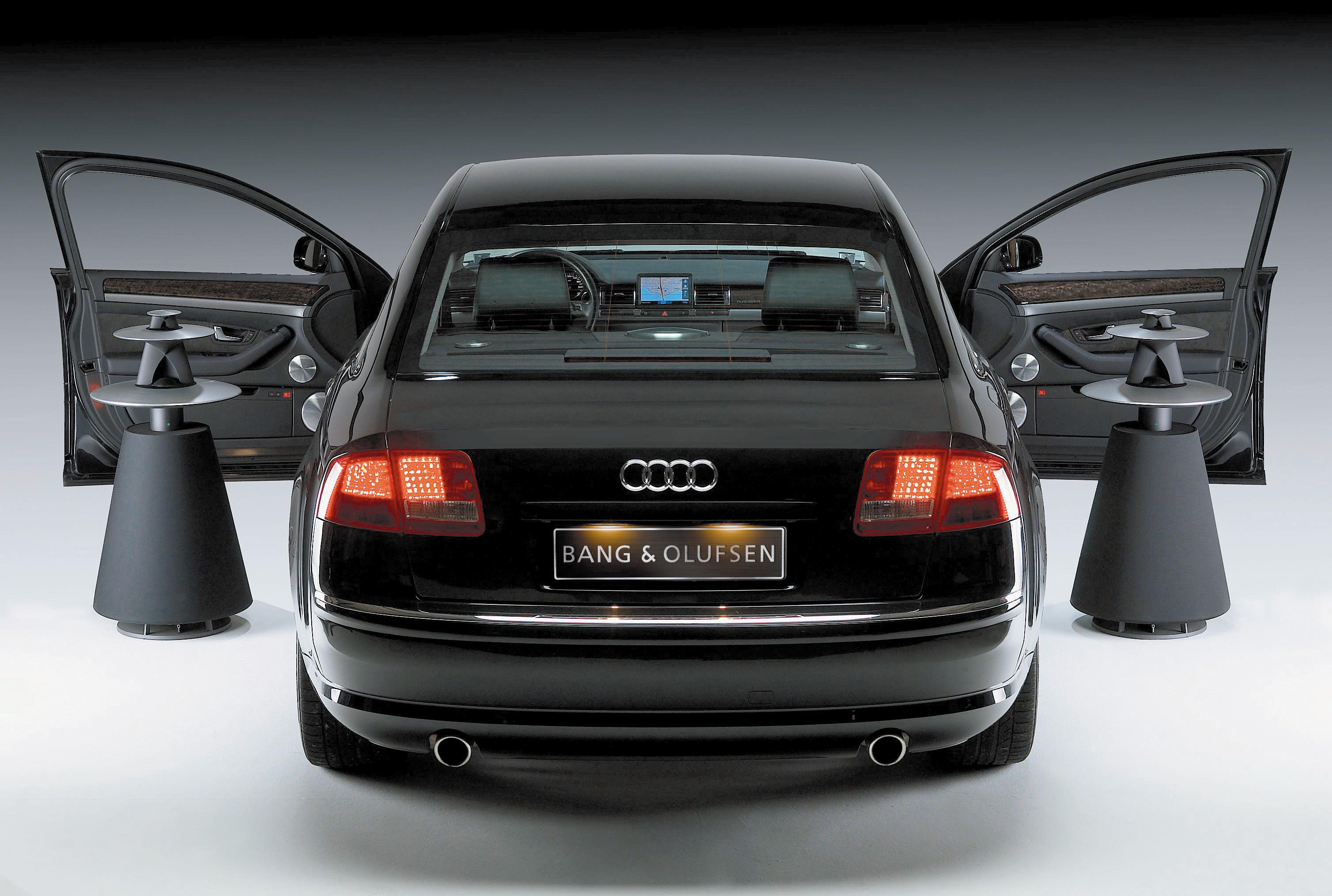 Bang Olufsen Sound System In The Audi A8 Top Speed