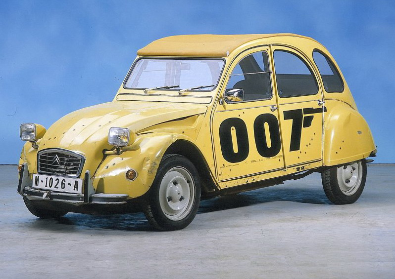 citroen 2cv most popular bond car top speed. Black Bedroom Furniture Sets. Home Design Ideas