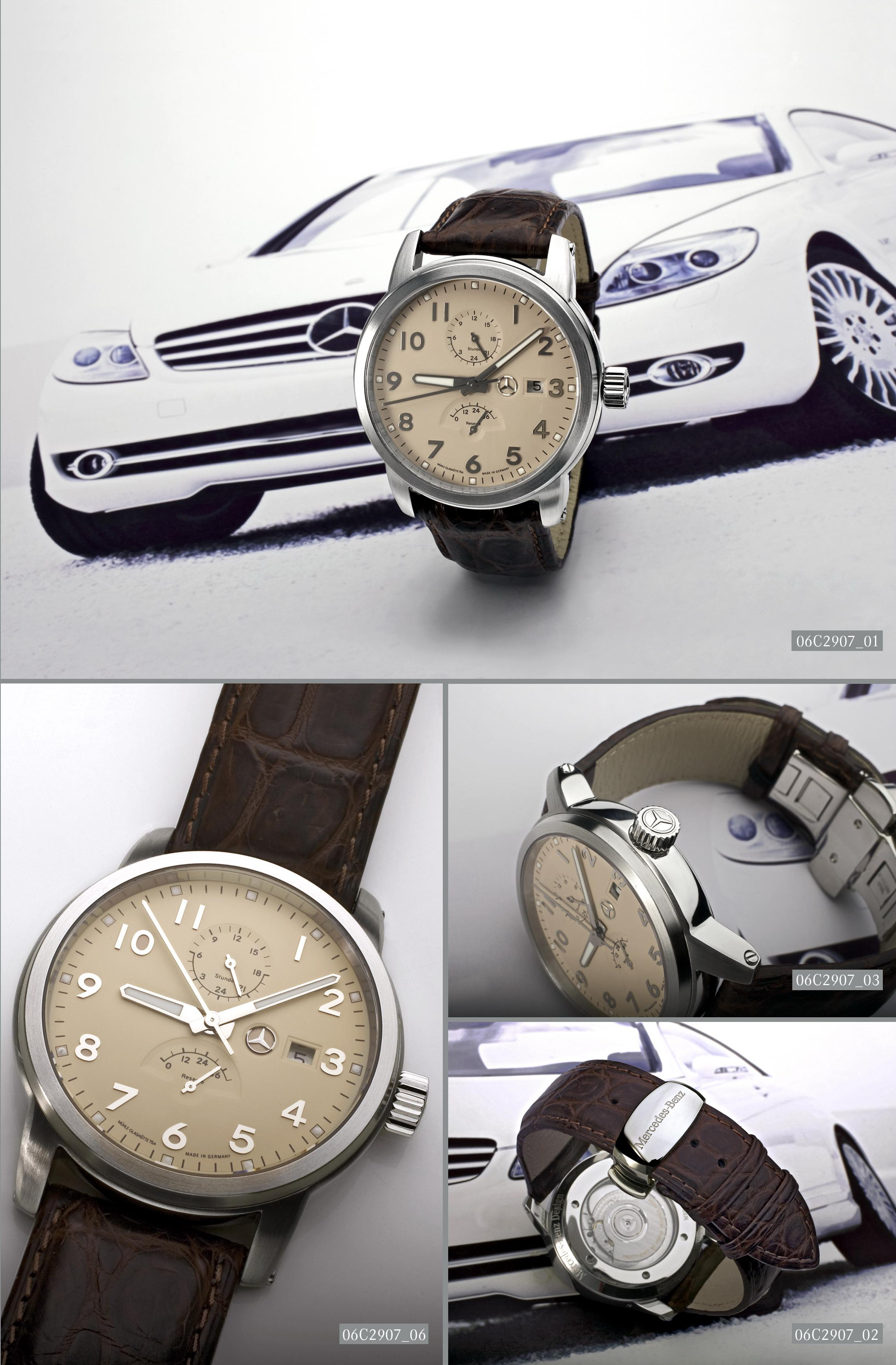 Mercedes benz launch limited edition watches news top speed for Mercedes benz limited edition