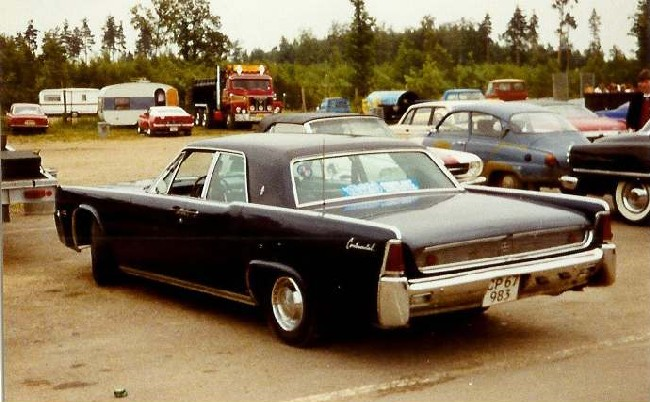 1961 Lincoln Continental | Top Sd on