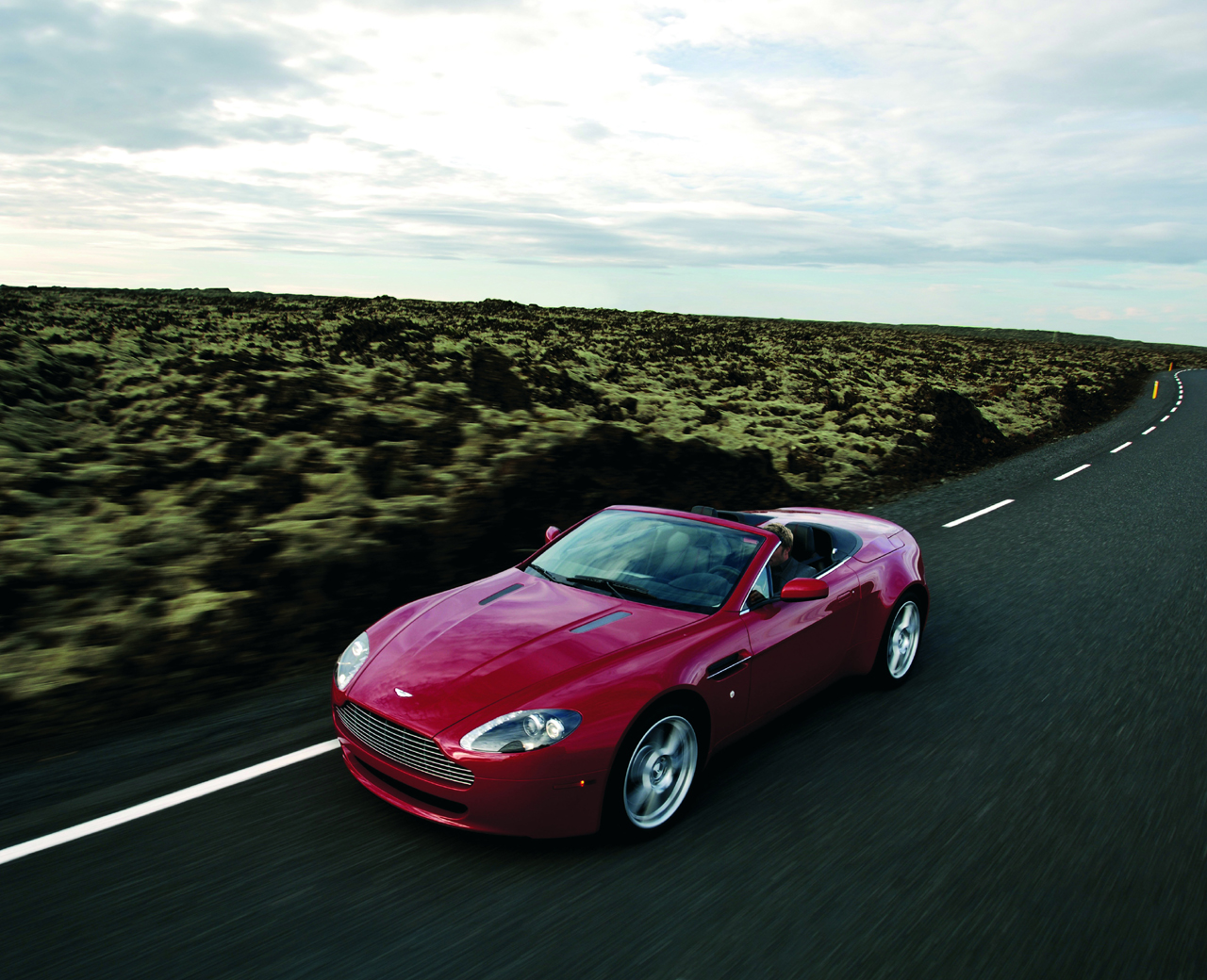 2007 aston-martin v8 vantage review - top speed