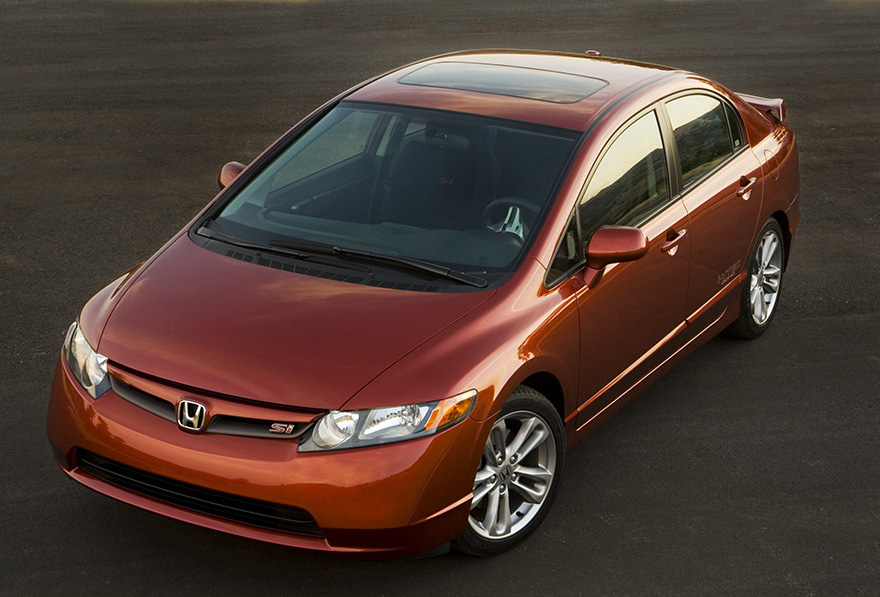 2007 Honda Civic Si Sedan Prices Announced | Top Speed. »