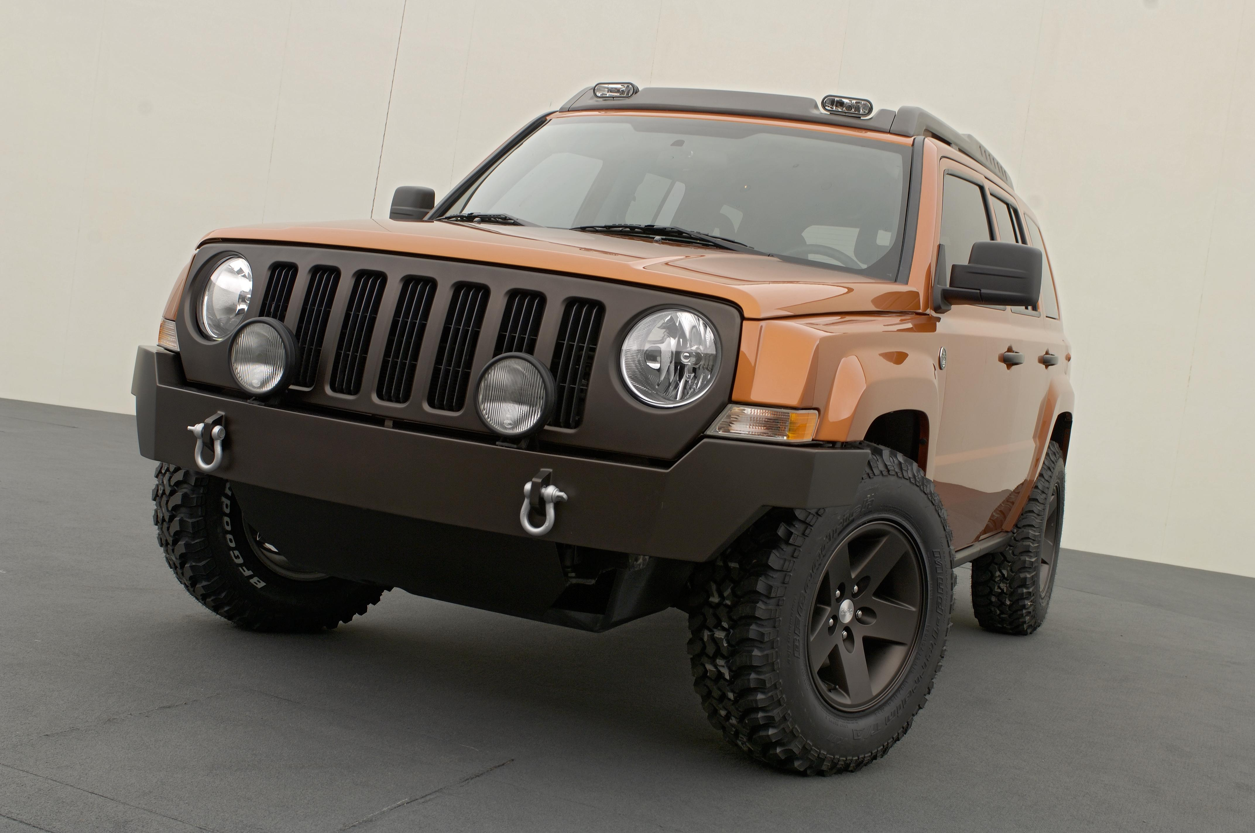 2007 jeep patriot review - gallery - top speed