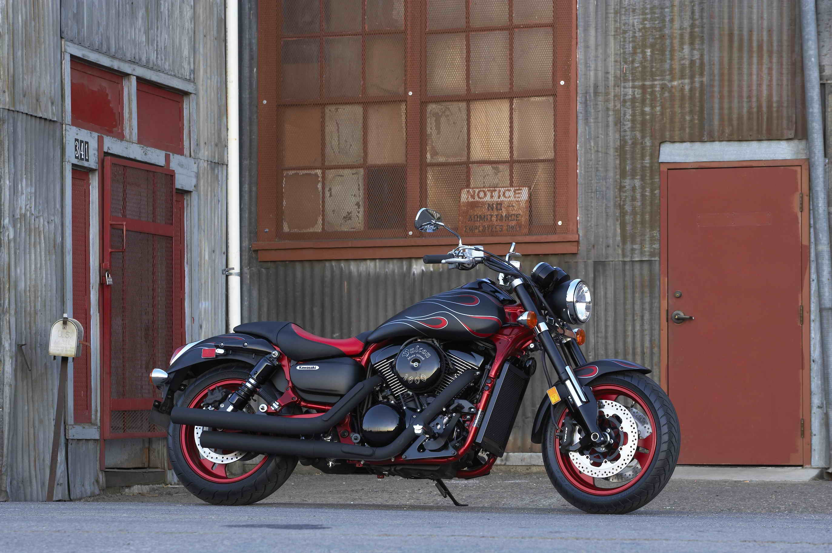 2007 Kawasaki Vulcan 1600 Mean Streak Top Speed