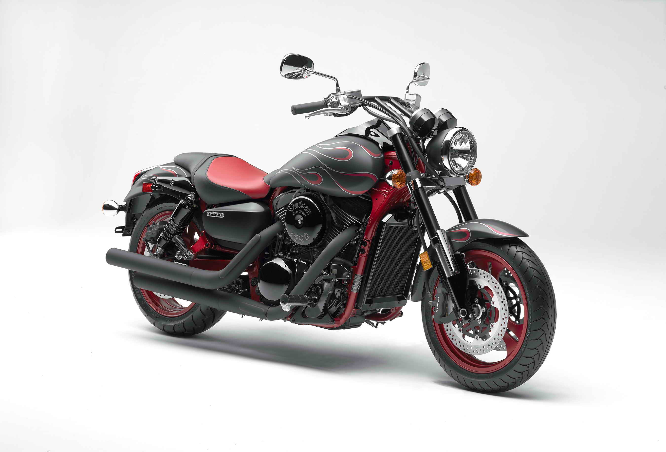 2007 Kawasaki Vulcan 1600 Mean Streak | Top Sd