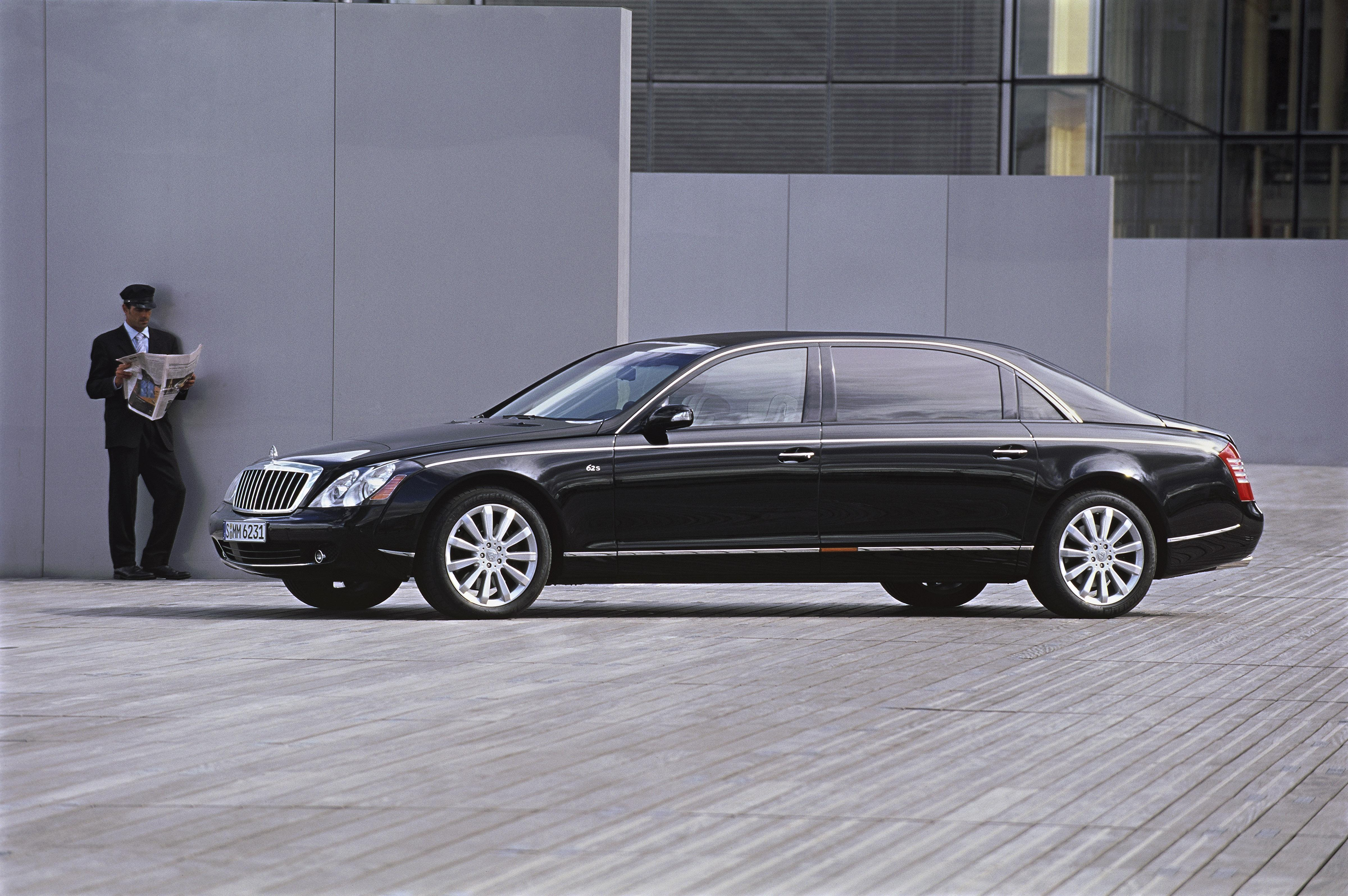 2007 maybach 62 s | top speed