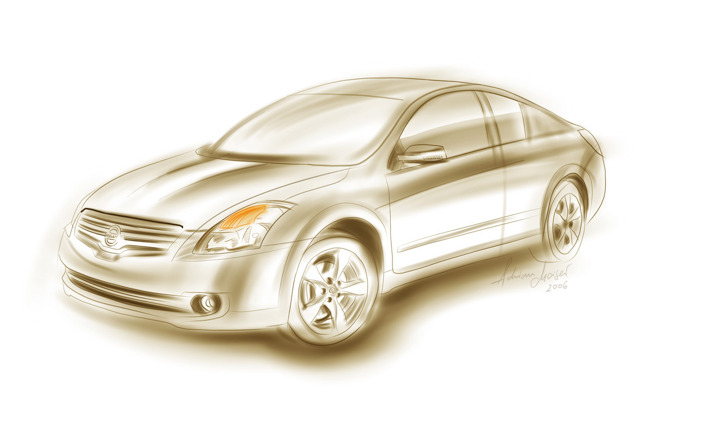 2008 Nissan Altima Coupe Top Speed