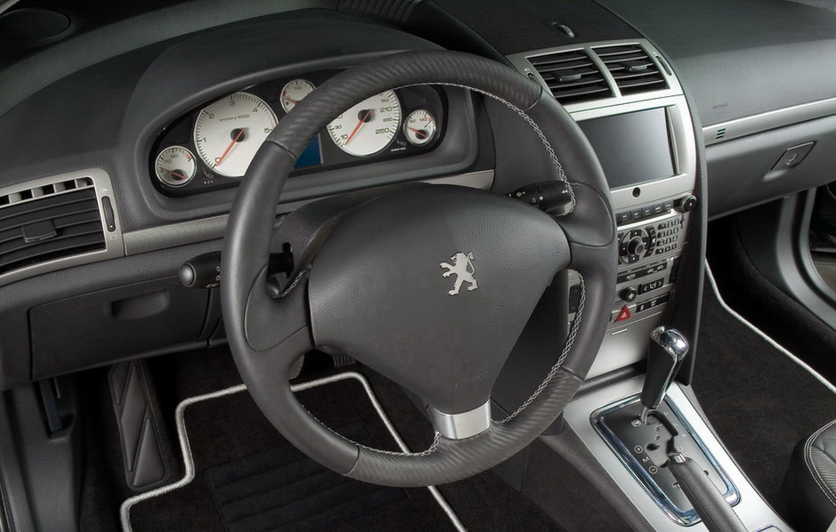 Peugeot 407 sw rc line news top speed for Interior 407 coupe