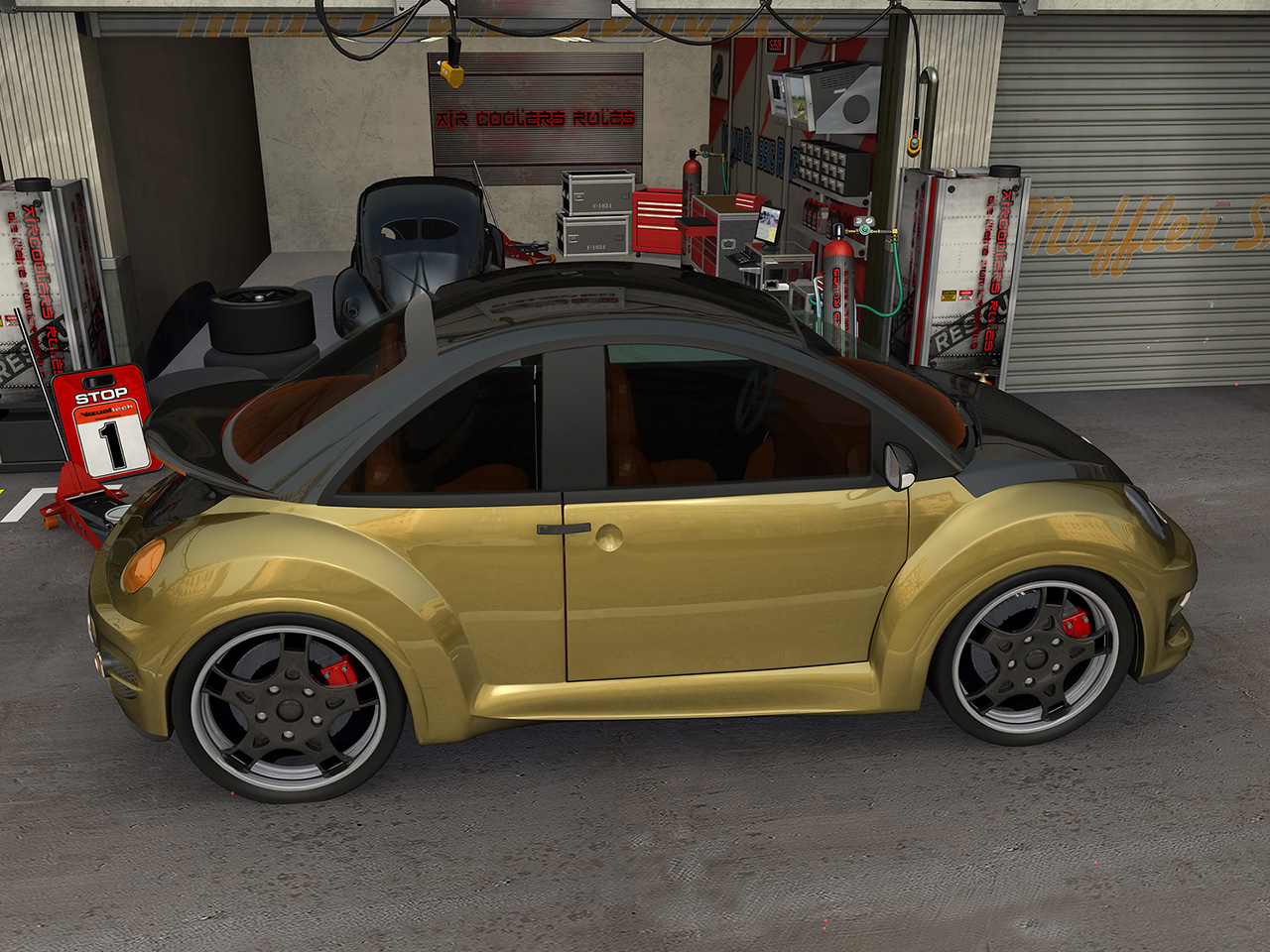 vw new beetle goodwood from jrd tuning gallery 115302 top speed. Black Bedroom Furniture Sets. Home Design Ideas
