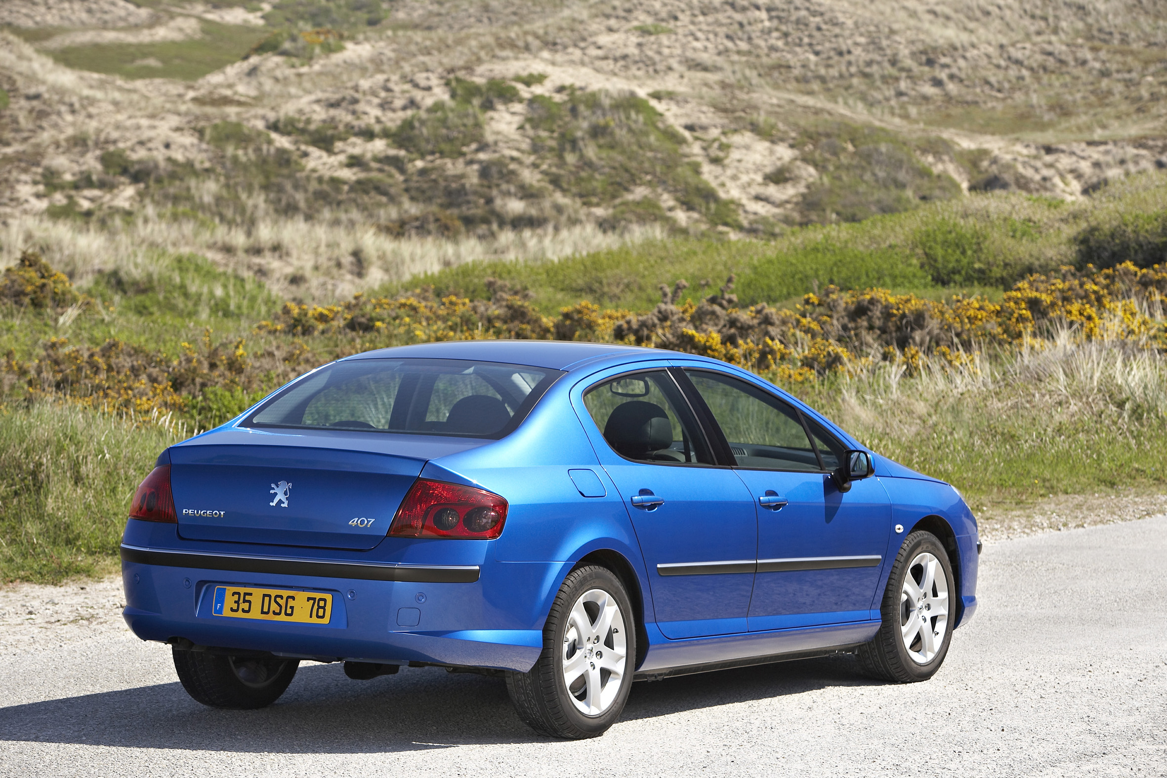 2006 peugeot 407 review - top speed