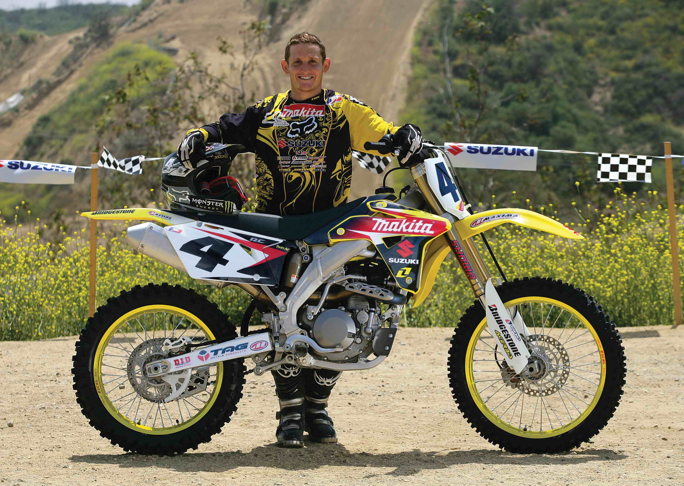2007 Suzuki RM-Z450 Carmichael Replica | Top Sd