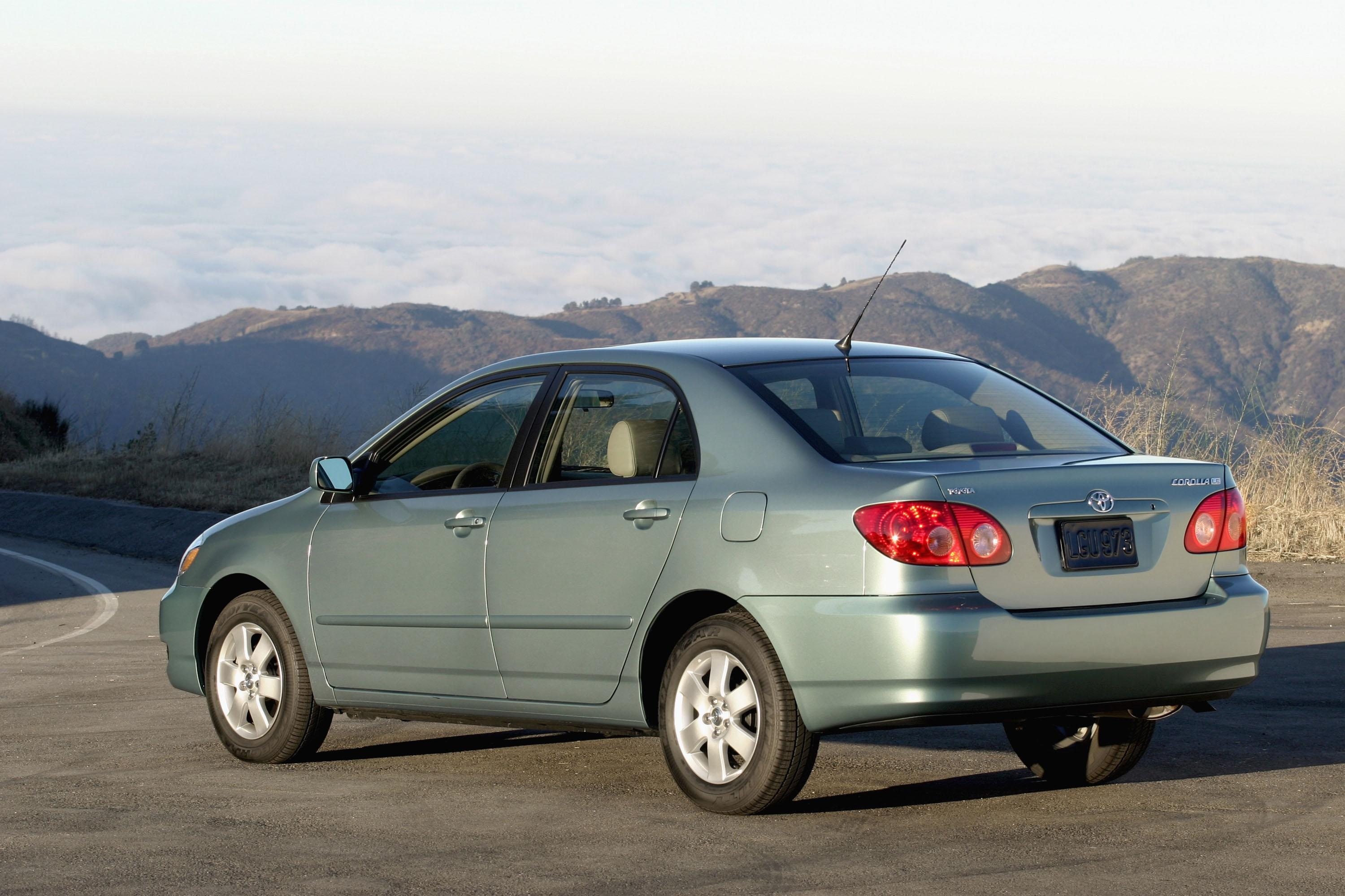 2007 Toyota Corolla Top Speed Fuel Filter Location