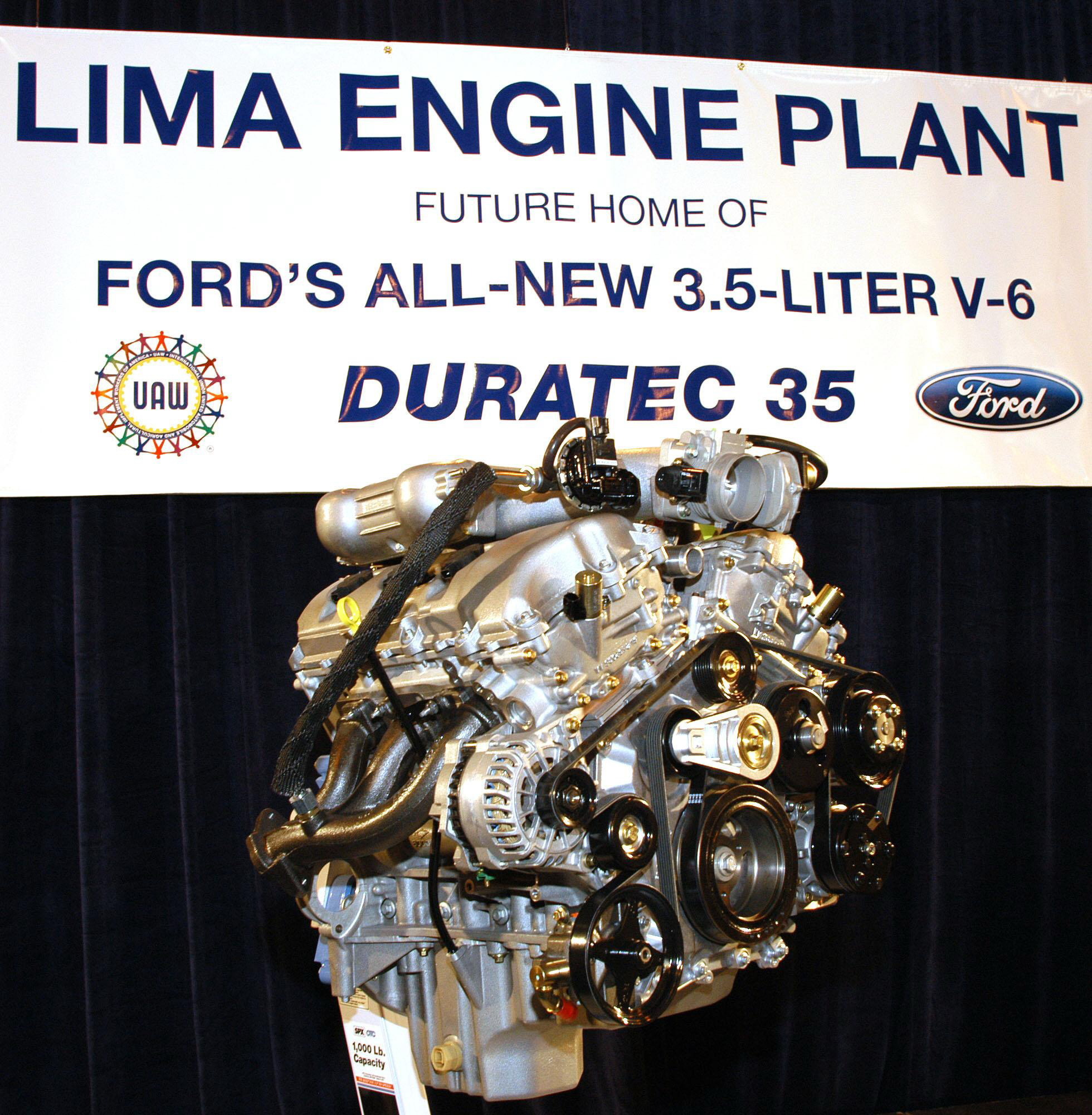 Ford's Duratec 35 Engine (V6 3.5) | Top Speed. »