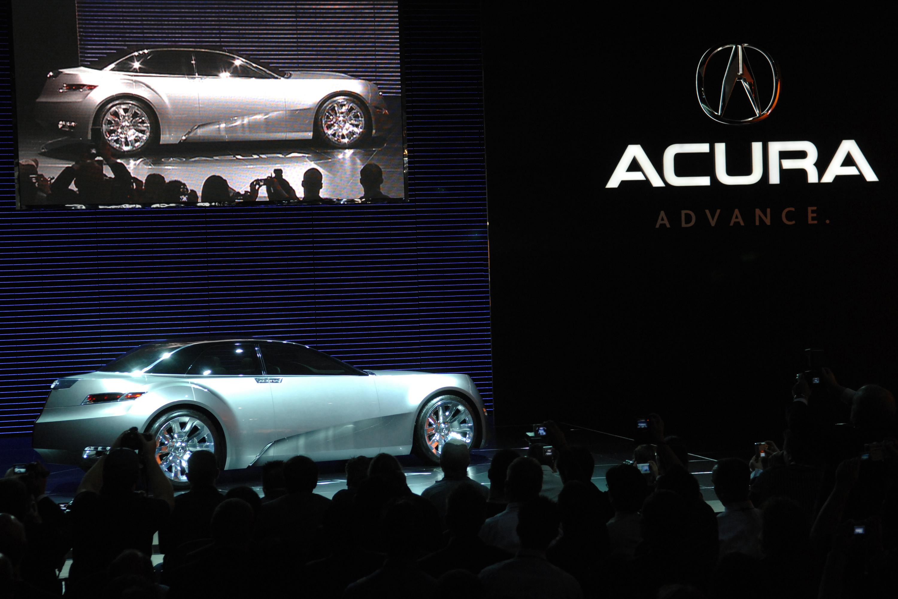 2007 Acura Advanced Sports Car Concept Review   Top Speed. »