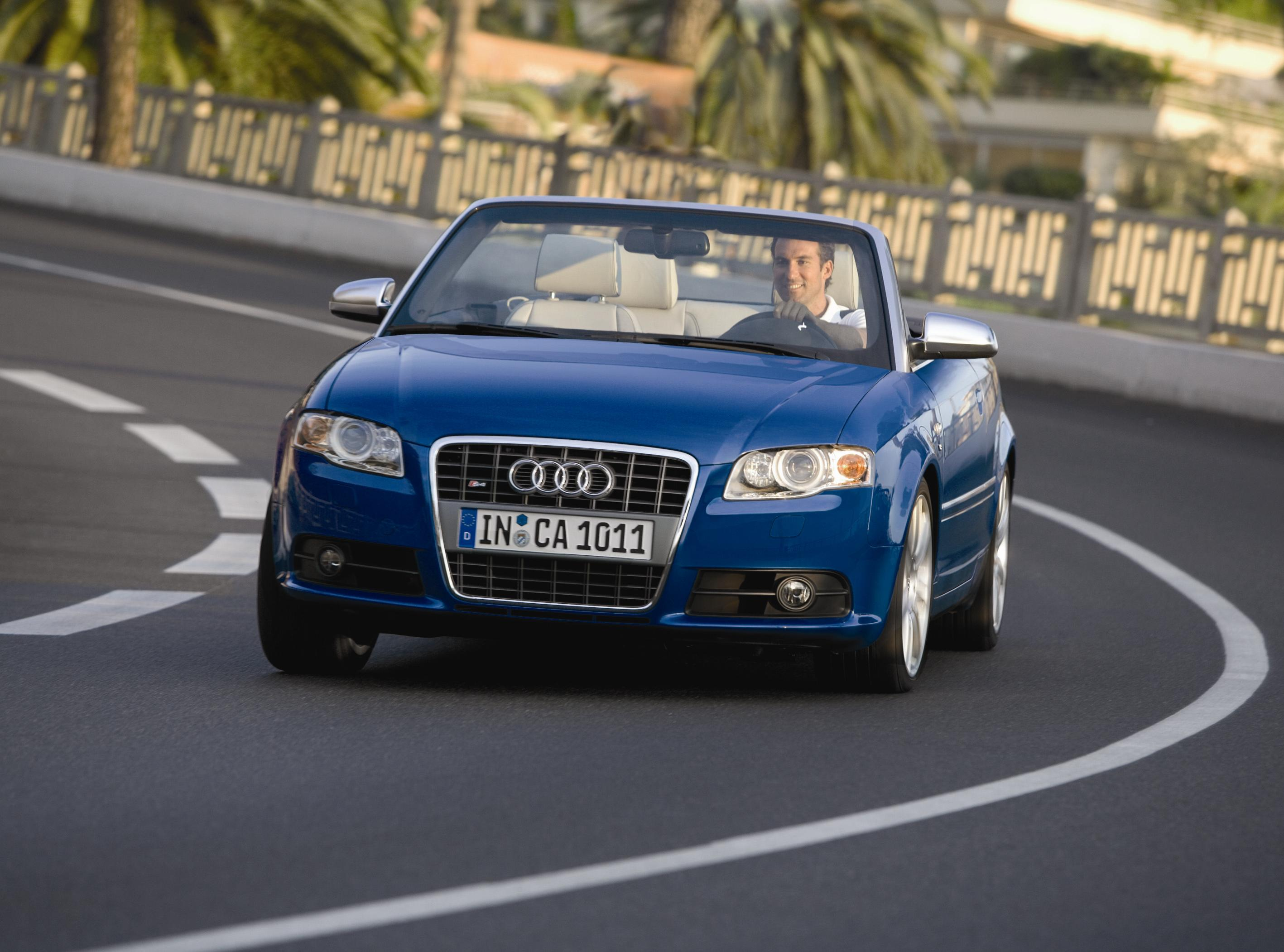 2007 Audi S4 Convertible | Top Speed. »