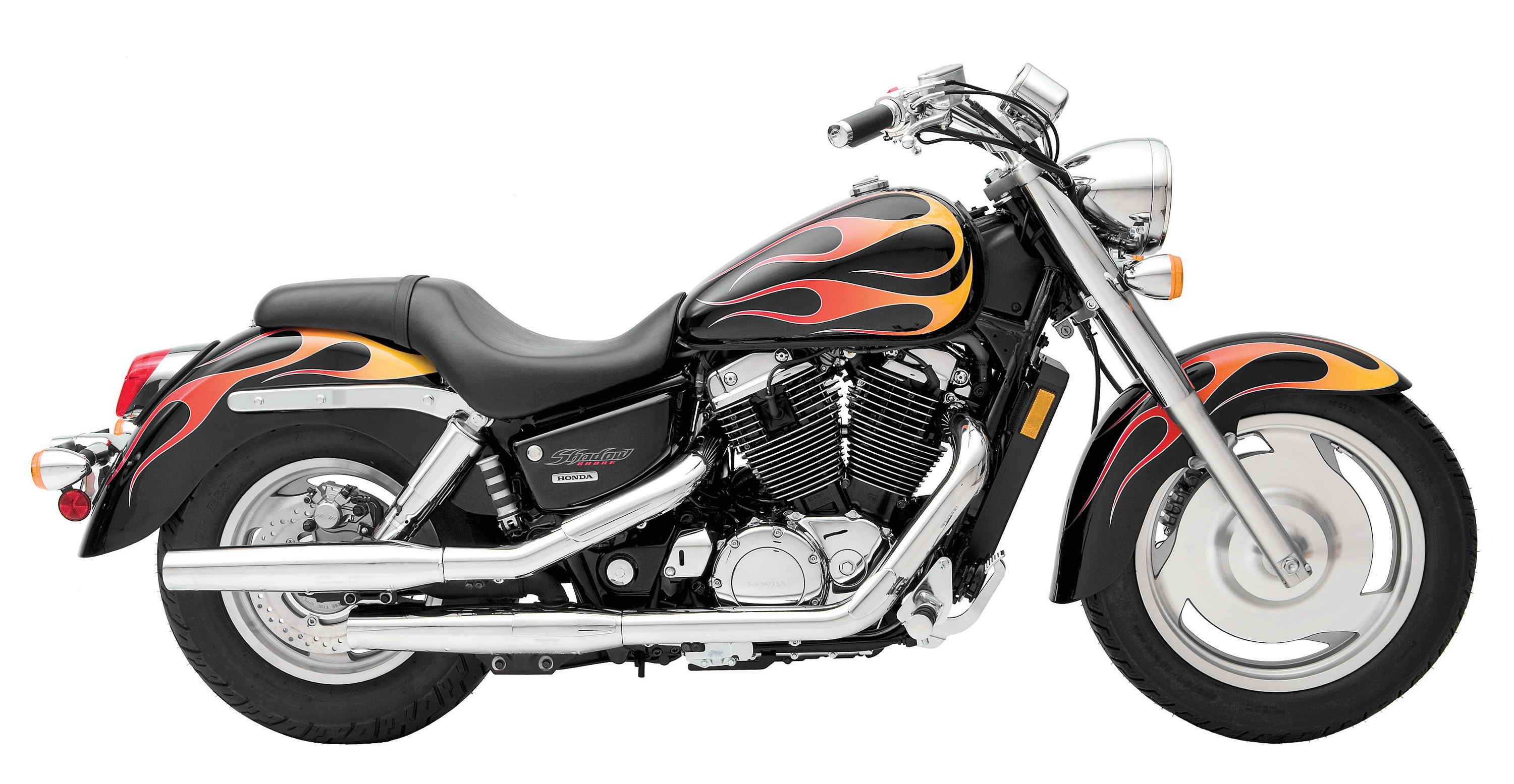 Honda Shadow 1100: photo, review, specifications, reviews 62