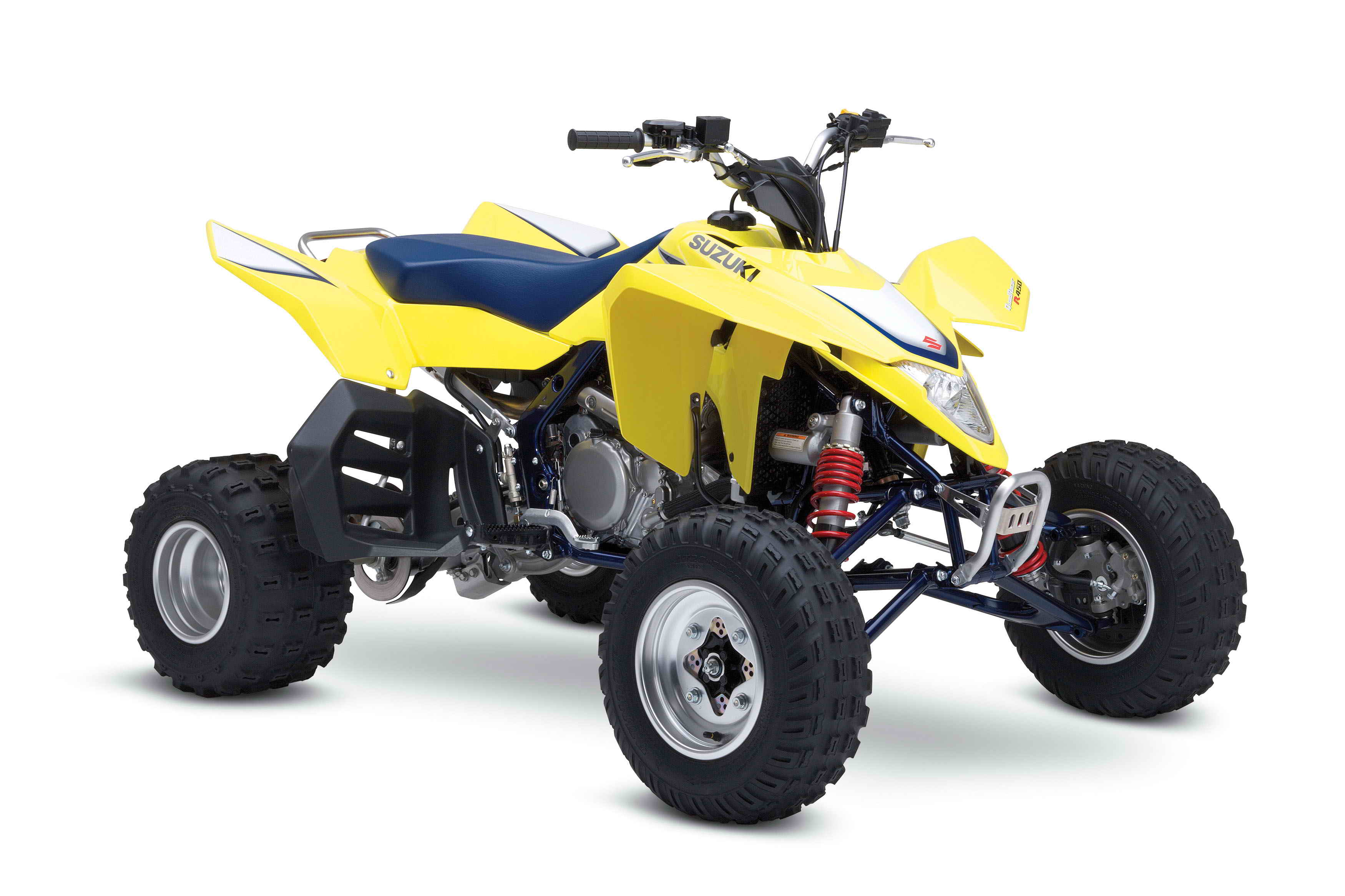 2007 Suzuki QuadRacer R450 | Top Speed