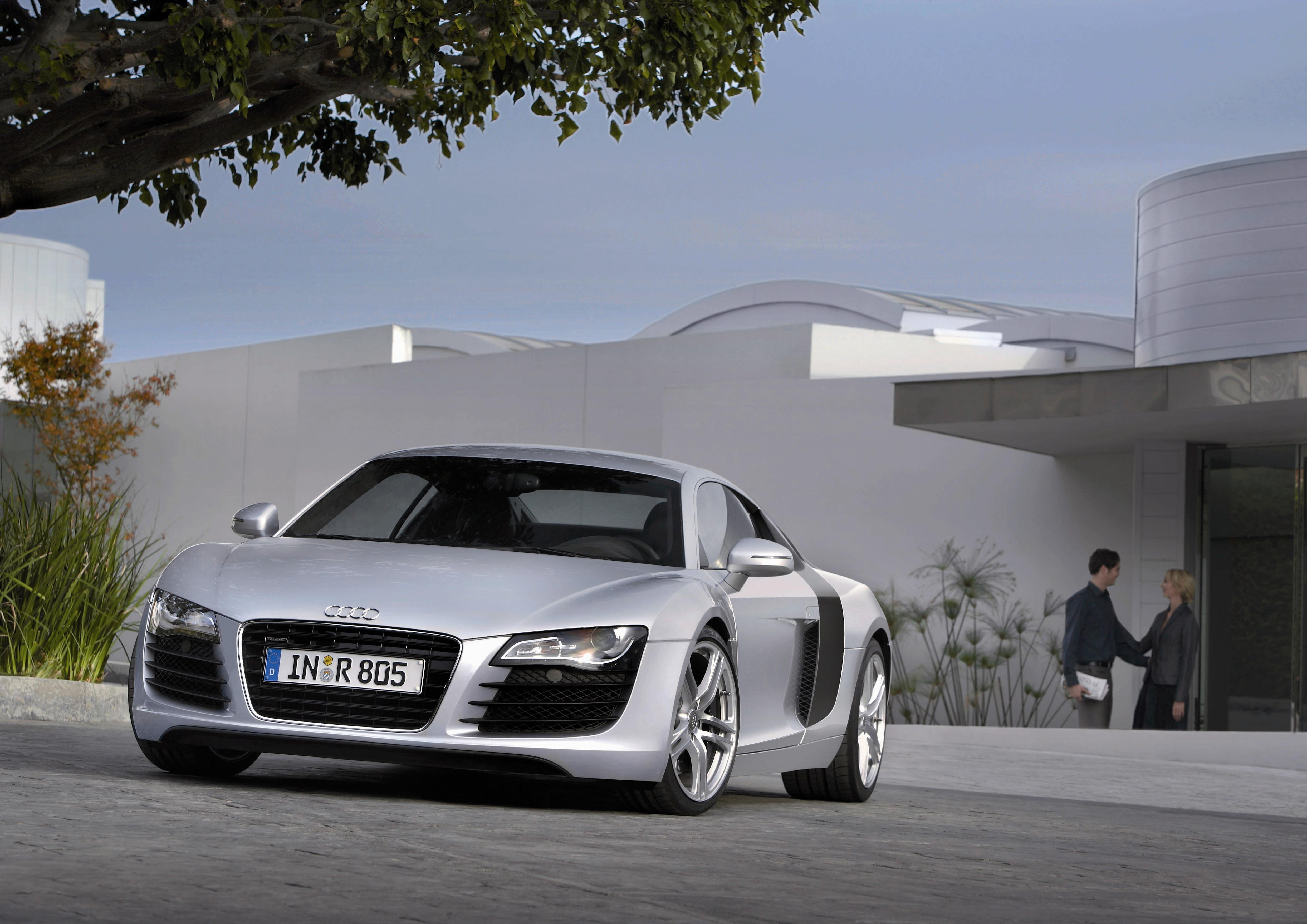 2008 audi r8 review - top speed