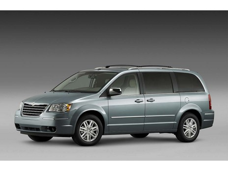 2008 Dodge Grand Caravan And Chrysler Town Country Top Speed