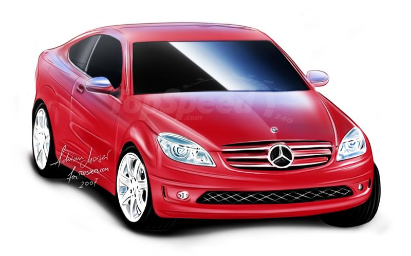 2009 Mercedes C Class Sports Coupe Top Speed