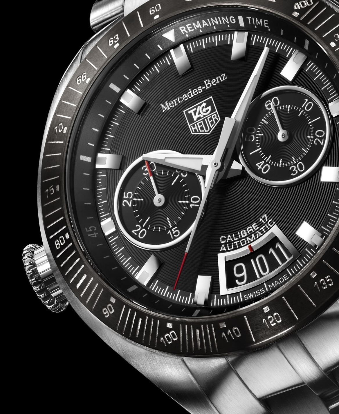 Tag heuer slr for mercedes benz news gallery top speed for Mercedes benz tag