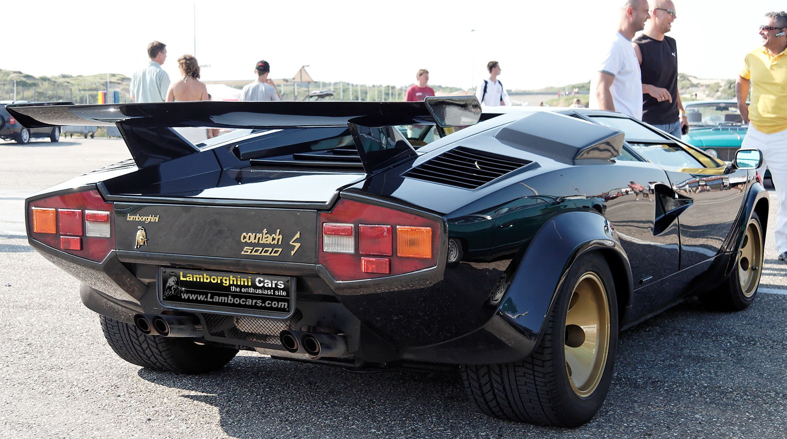 1973 1990 Lamborghini Countach Top Speed