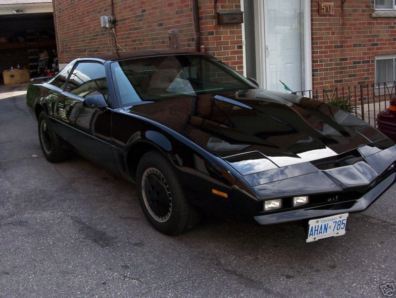 1984 pontiac trans am knight rider replica on sale pictures photos wallpapers top speed. Black Bedroom Furniture Sets. Home Design Ideas