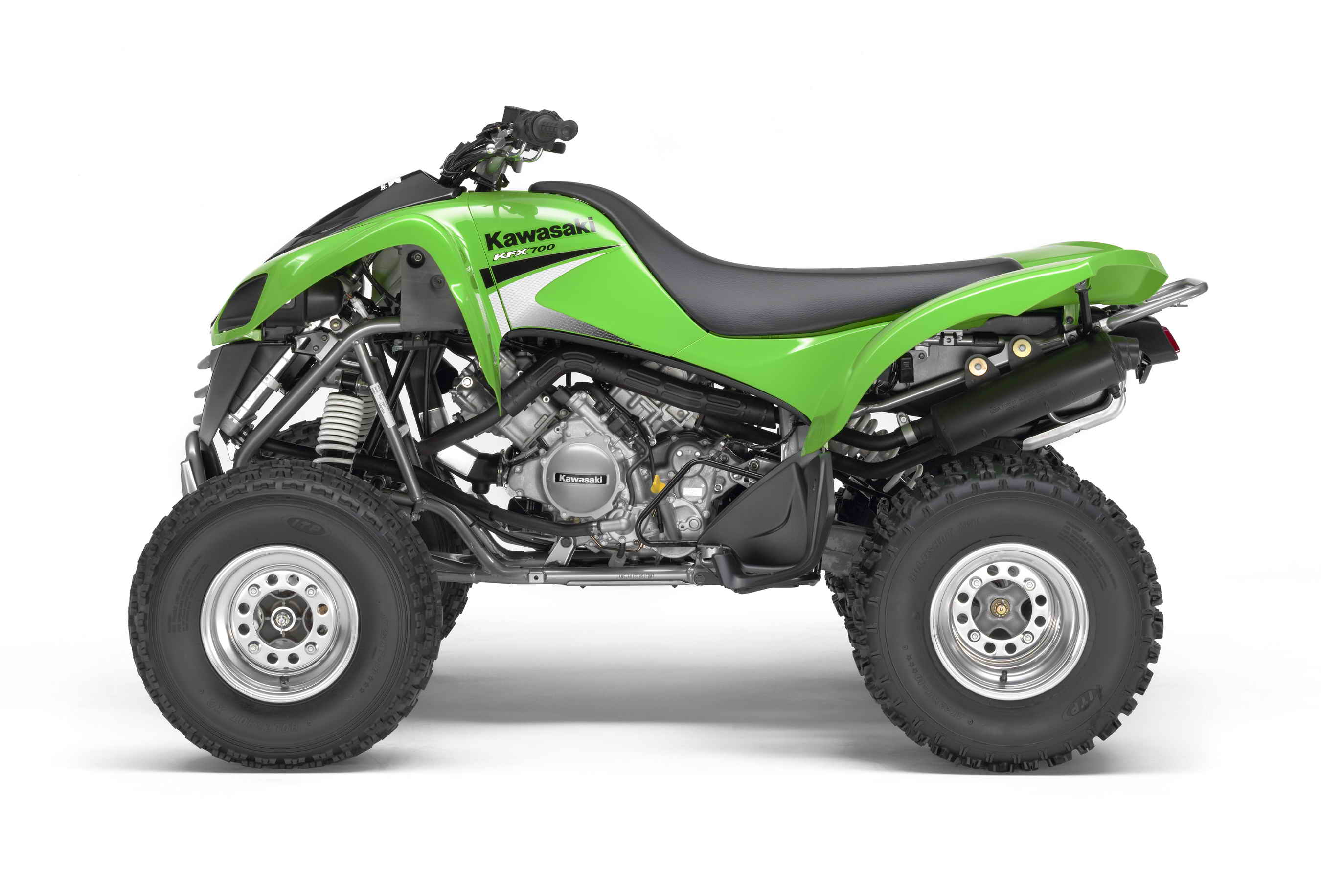 2007 Kawasaki KFX700 Review - Top Speed