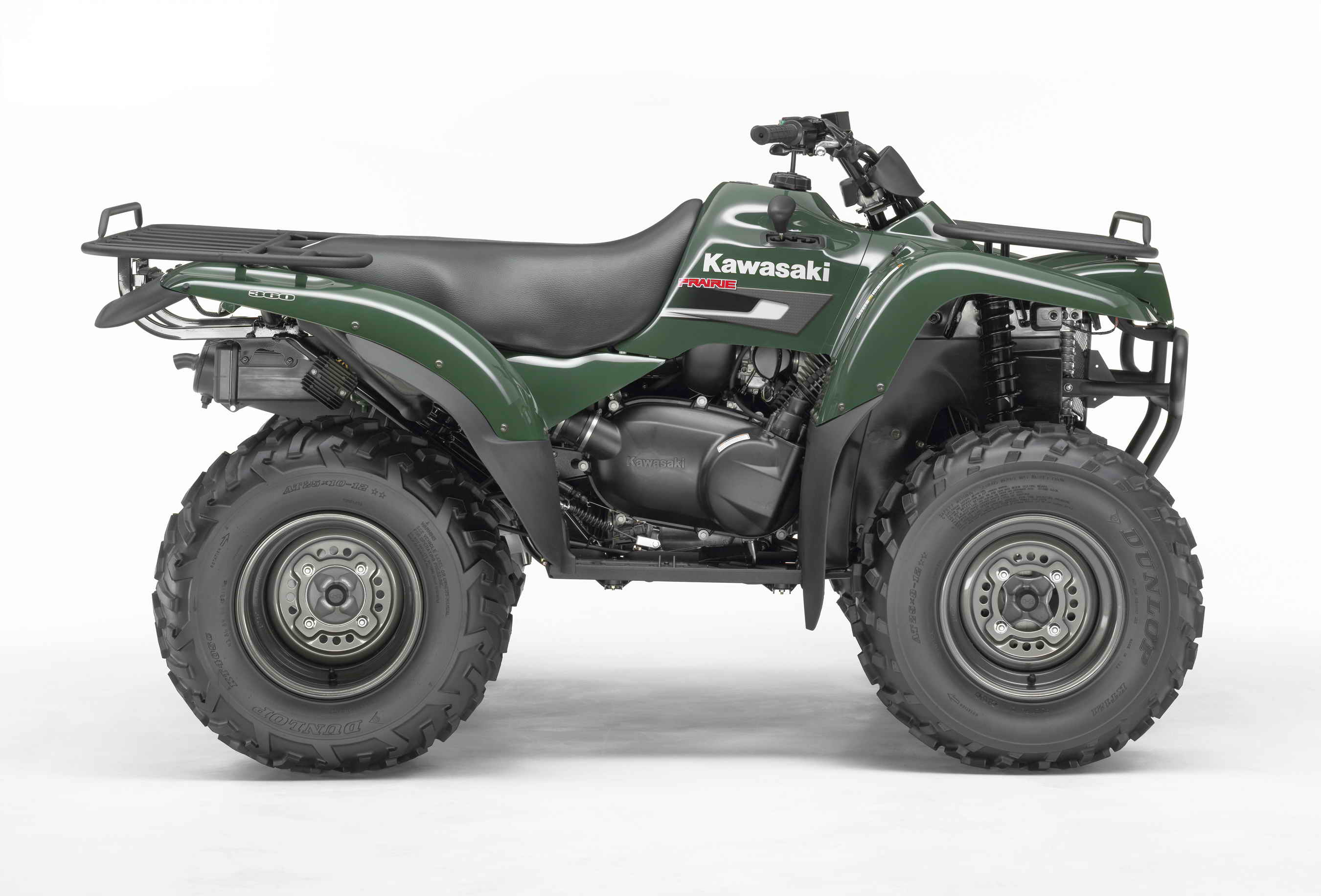 2007 Kawasaki Prairie 360 | Top Speed. »