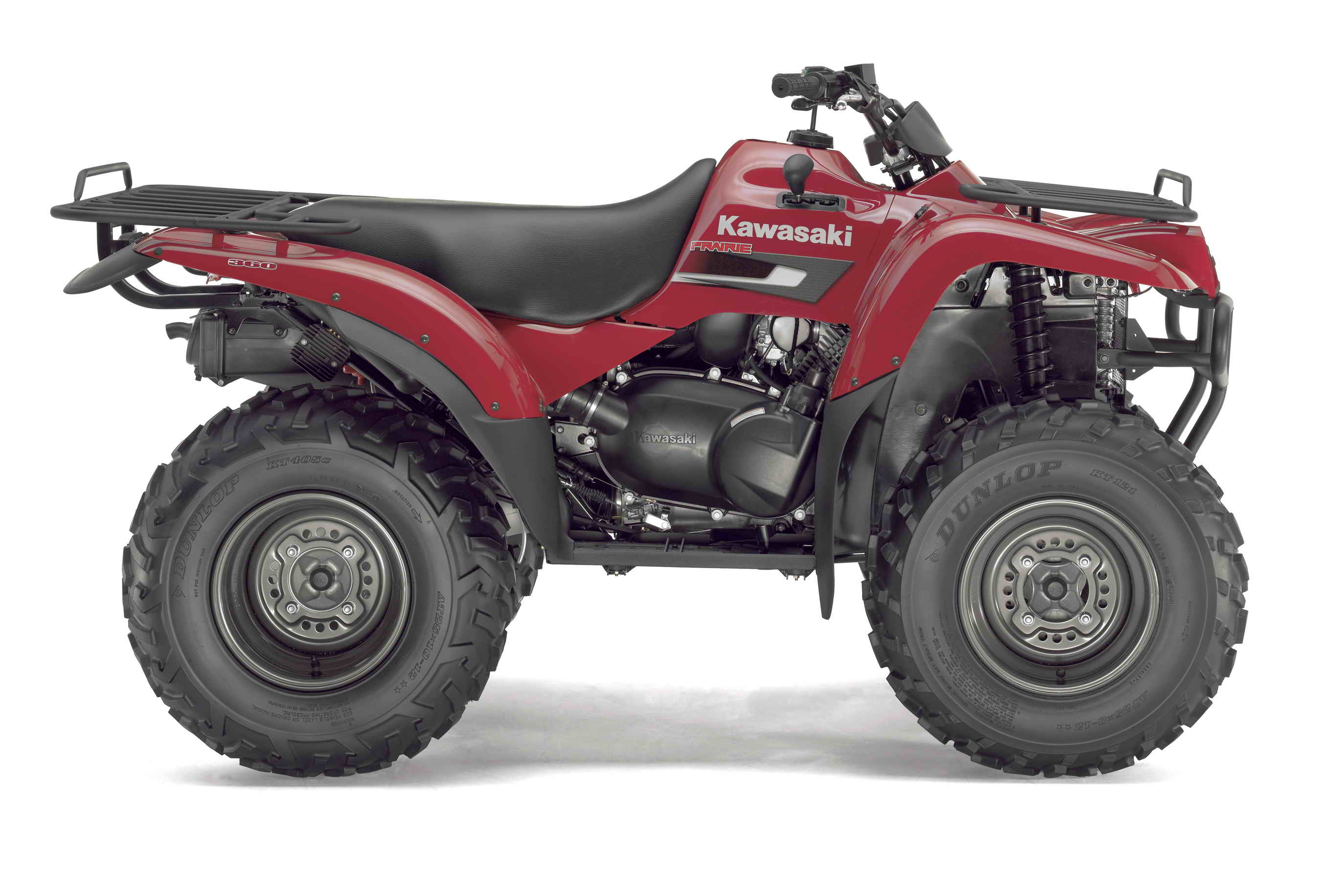2007 Kawasaki Prairie 360 | Top Speed