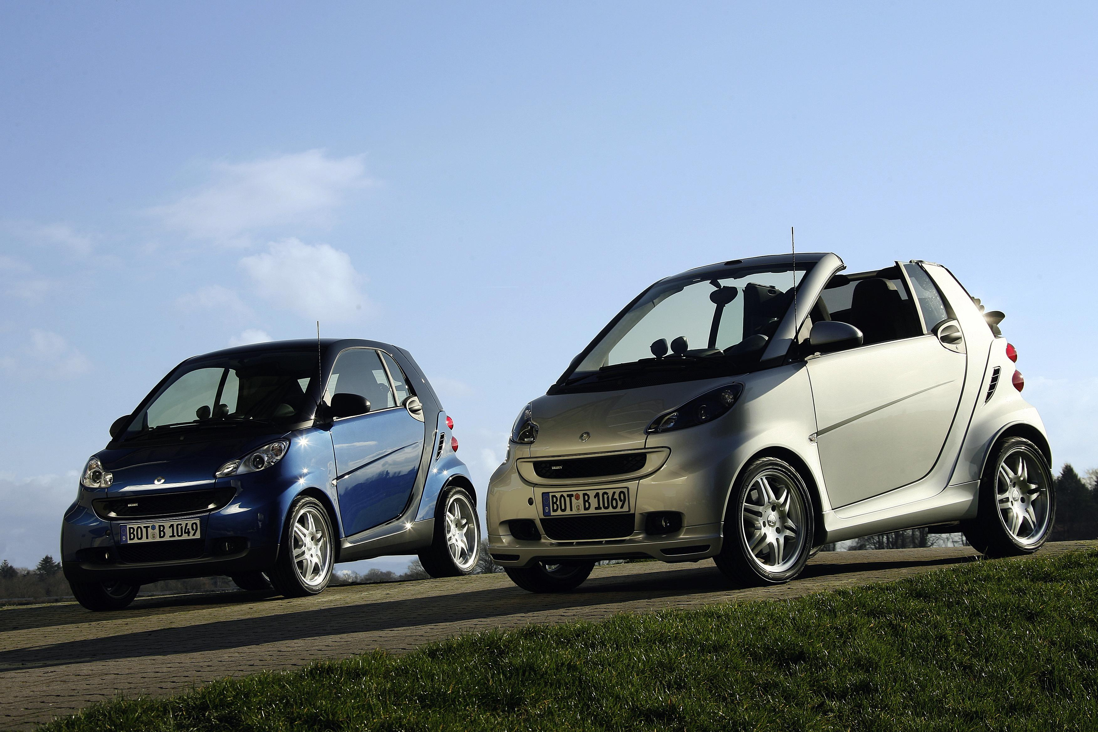 2007 smart fortwo brabus and brabus xclusive top speed. Black Bedroom Furniture Sets. Home Design Ideas