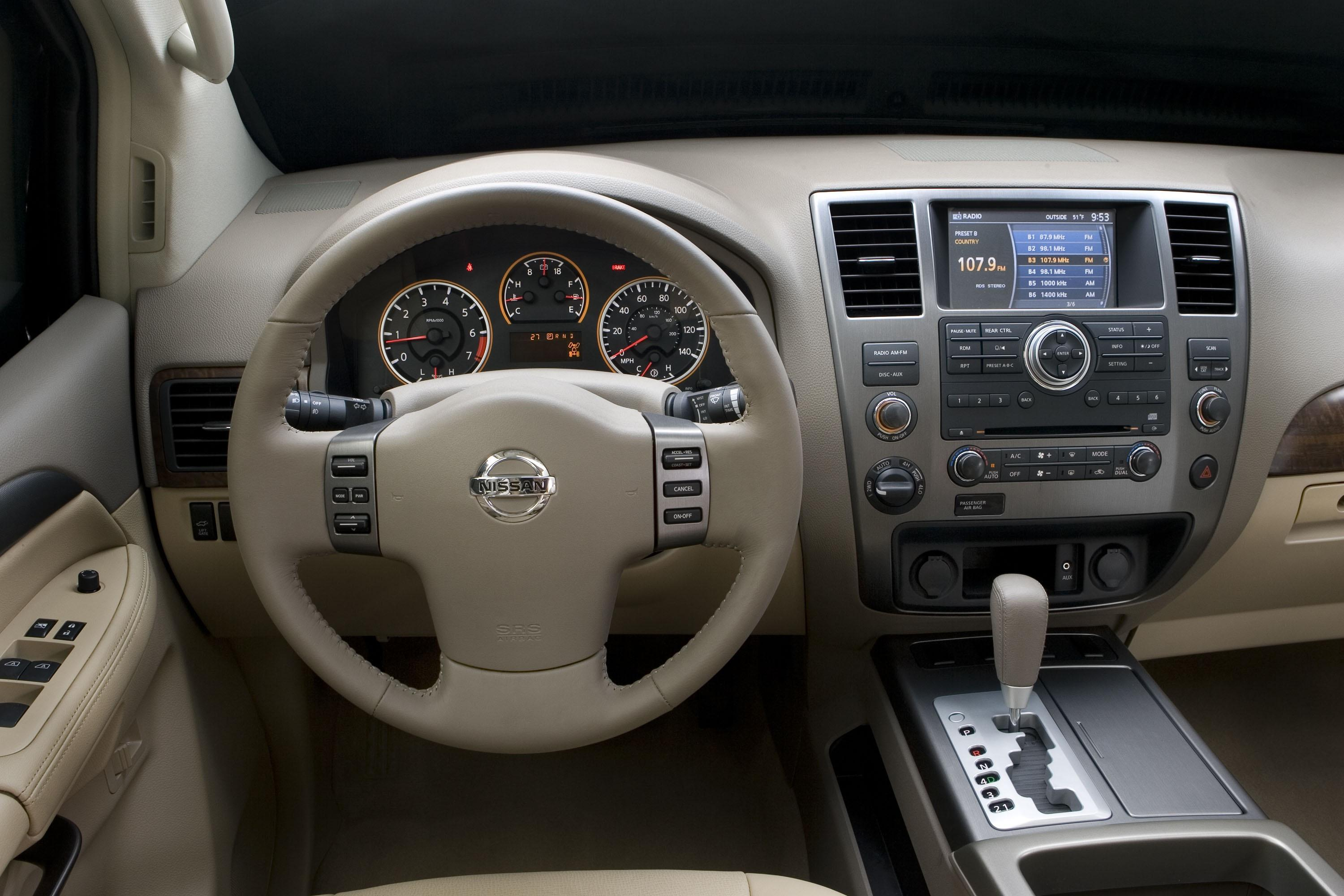 2008 Nissan Armada Top Speed