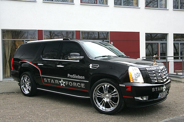 GeigerCars Cadillac Escallade - The Vehicle For 2007 Oscar ...