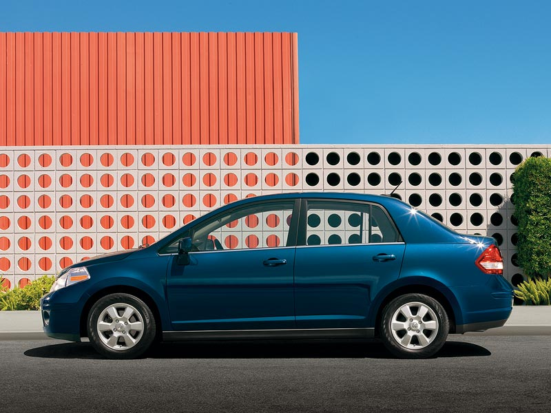 2007 Nissan Versa Top Speed