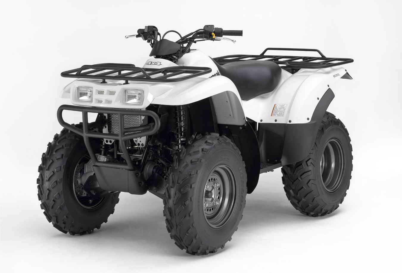 2007 Kawasaki Prairie 360 4X4 | Top Speed