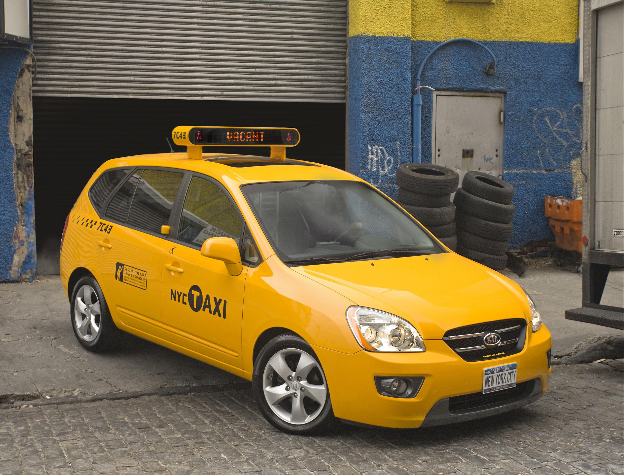 2007 Kia Rondo Taxi Cab Top Speed